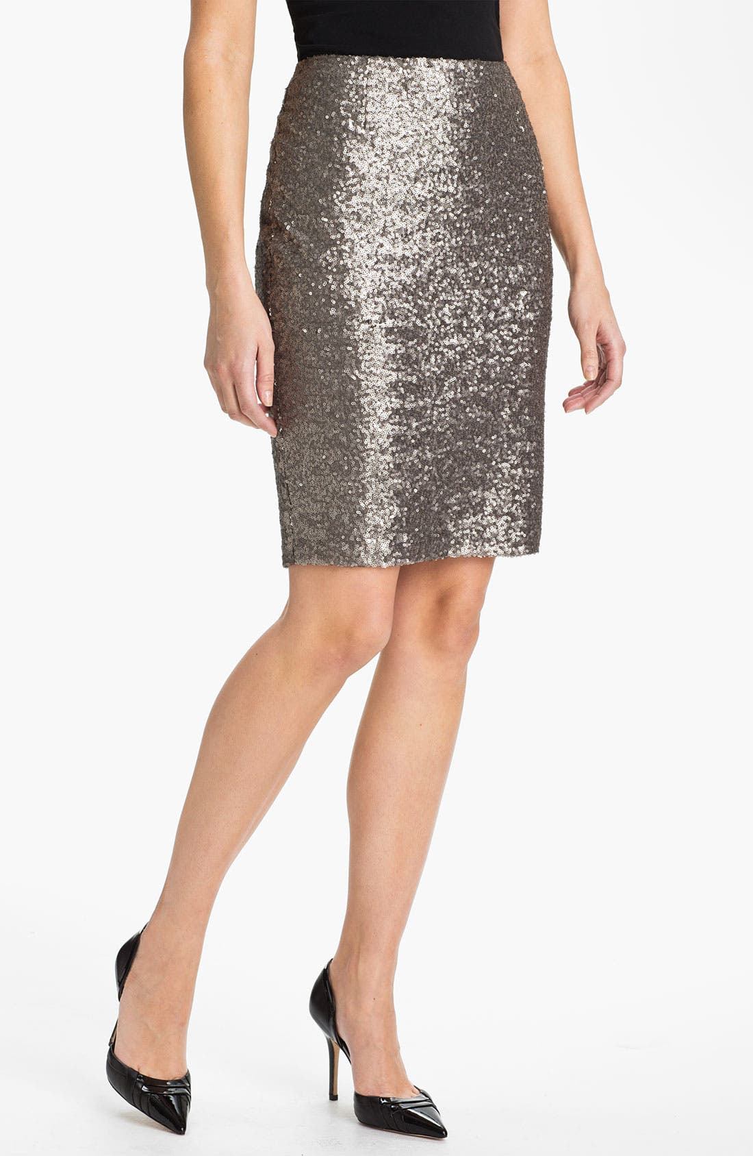 Alternate Image 1 Selected - Halogen® Sequin Skirt