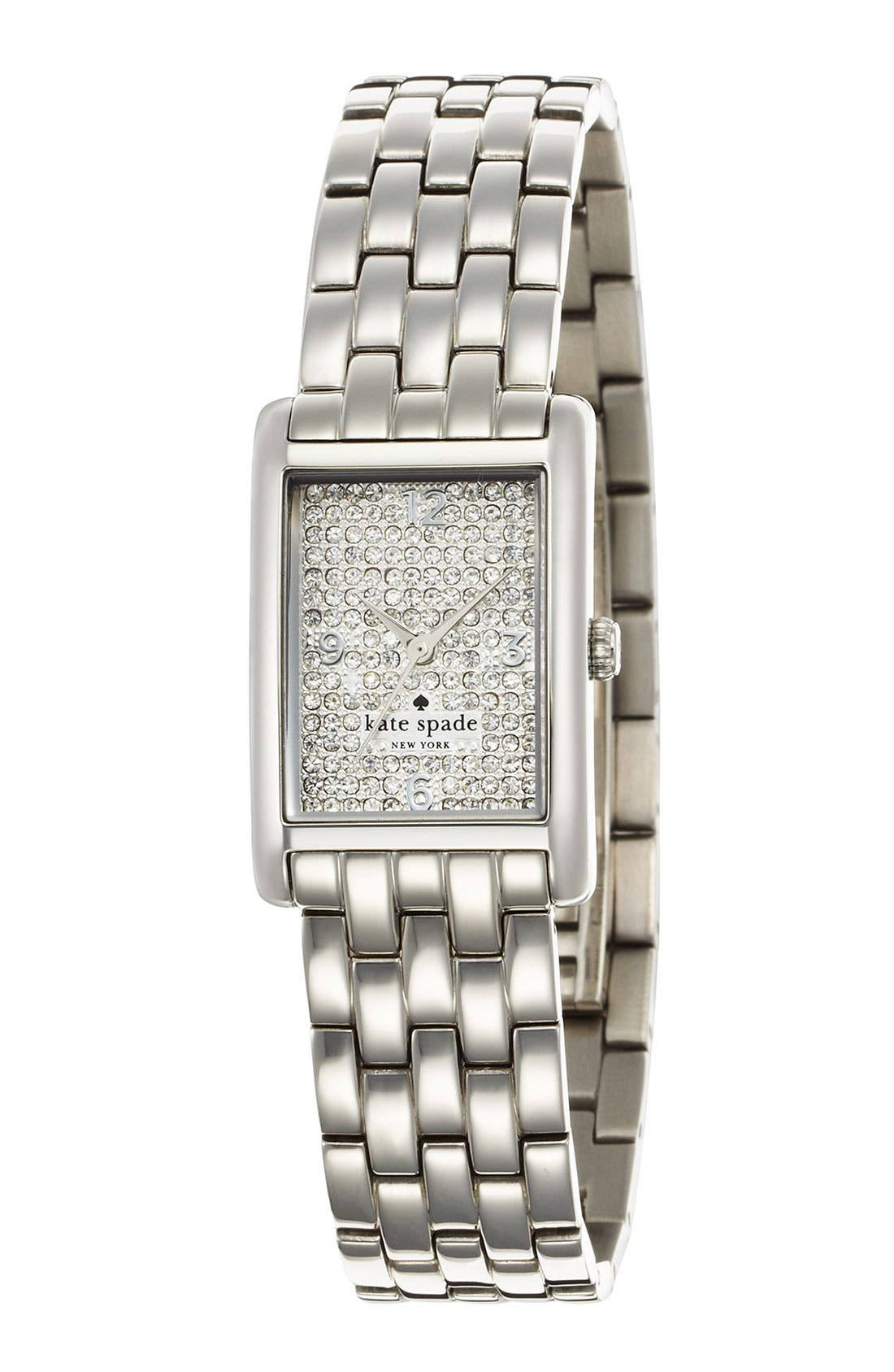 Main Image - kate spade new york 'cooper' pavé dial bracelet watch