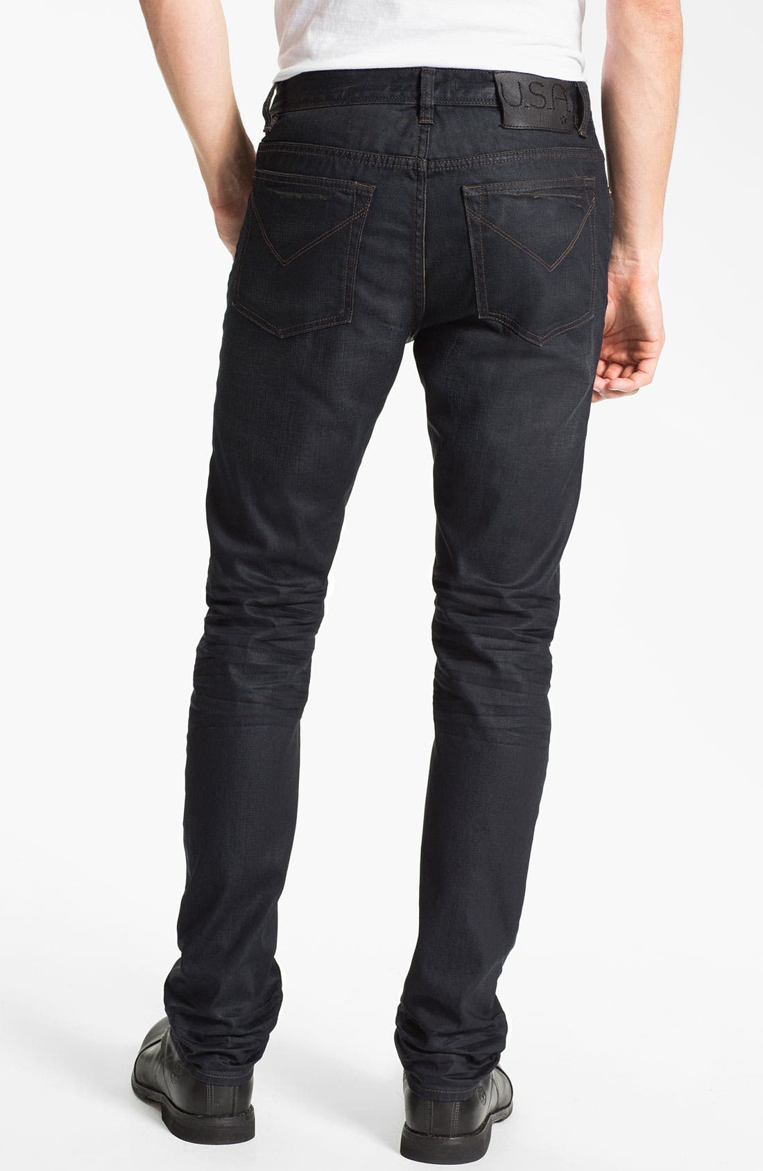 Alternate Image 2  - John Varvatos Star USA 'Bowery Ardmore' Slim Straight Leg Jeans