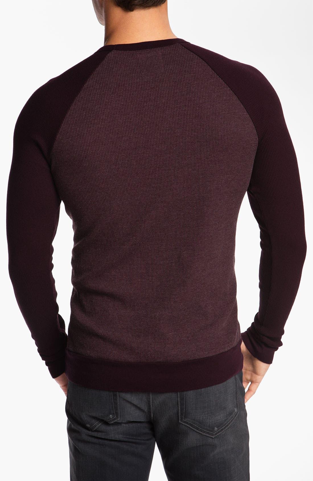 Alternate Image 2  - Splendid Mills 'Slater' Raglan Sleeve Thermal Shirt