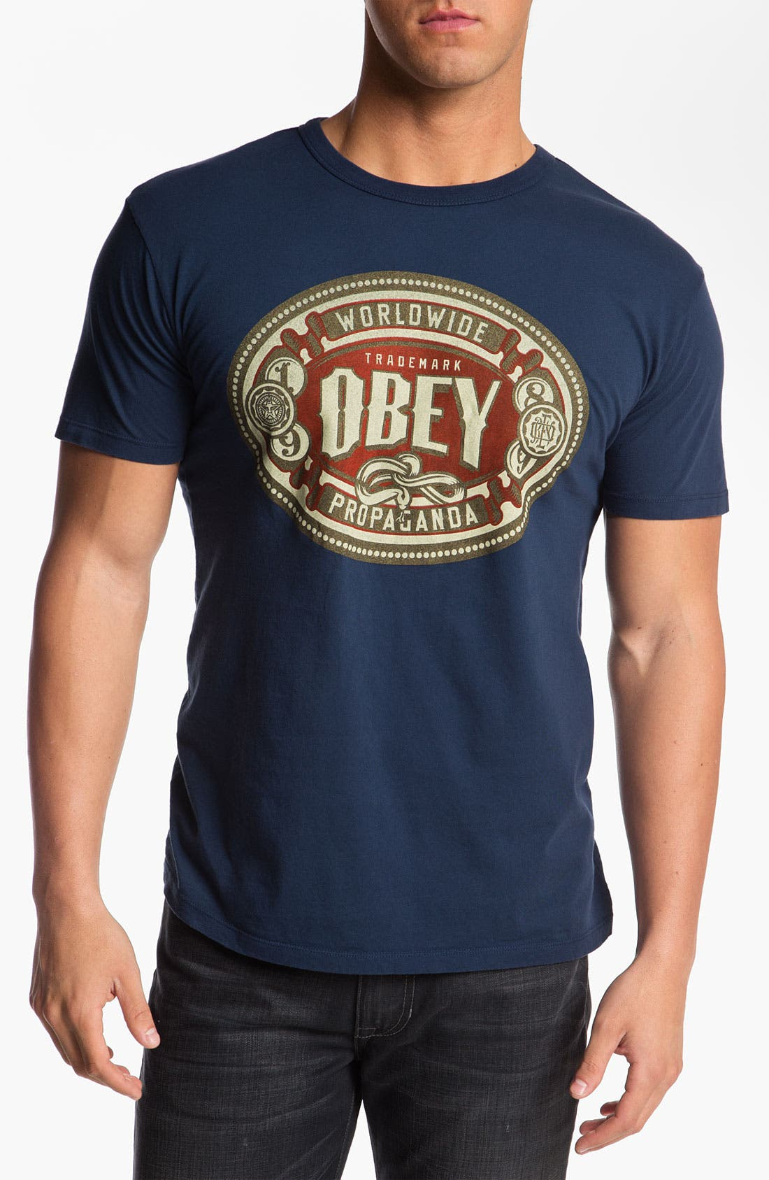 Alternate Image 1 Selected - Obey 'Havana' Graphic T-Shirt