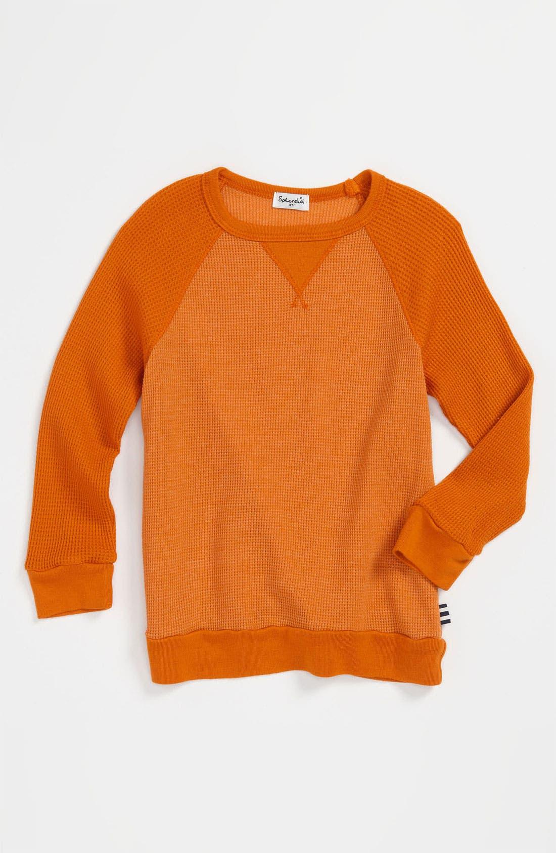 Alternate Image 1 Selected - Splendid 'Fletcher' Thermal T-Shirt (Toddler)