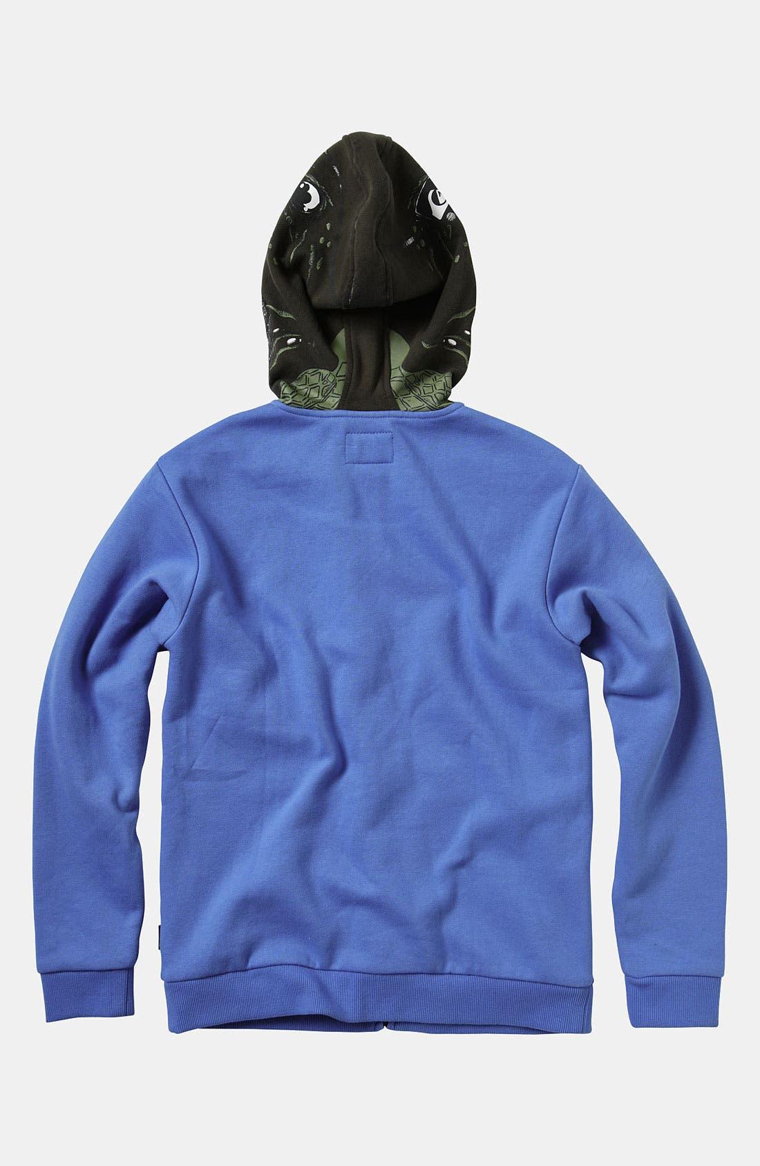 Alternate Image 3  - Quiksilver 'Irony' Mask Hoodie (Big Boys)