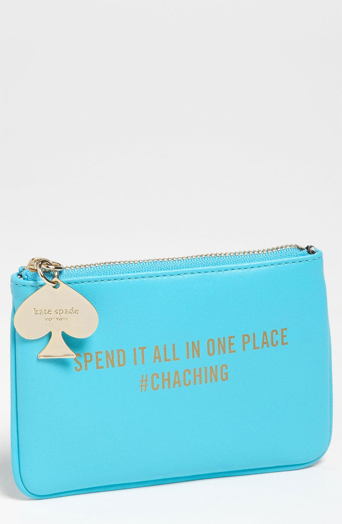 Alternate Image 1 Selected - kate spade new york 'coin a phrase - cha ching' coin purse