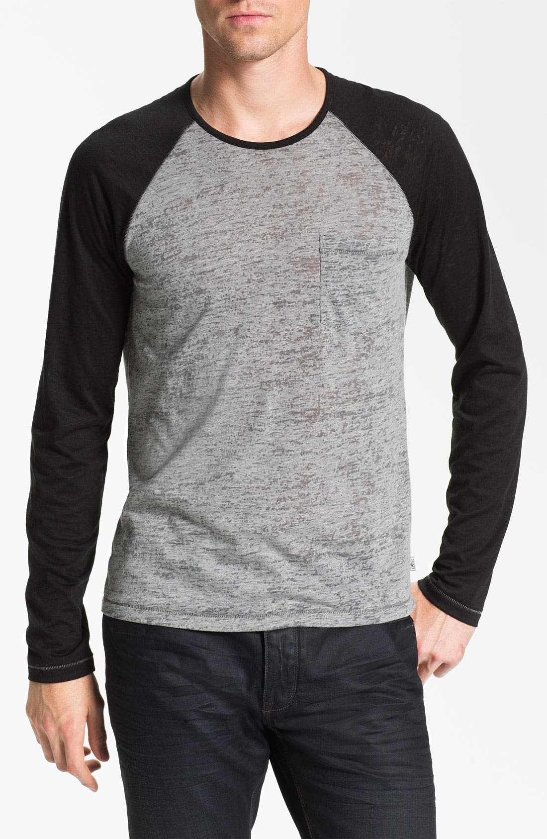 Alternate Image 1 Selected - John Varvatos Star USA Raglan T-Shirt