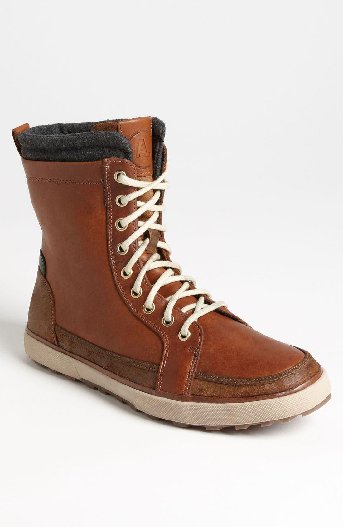 Alternate Image 1 Selected - ALDO 'Grabau' Moc Toe Boot