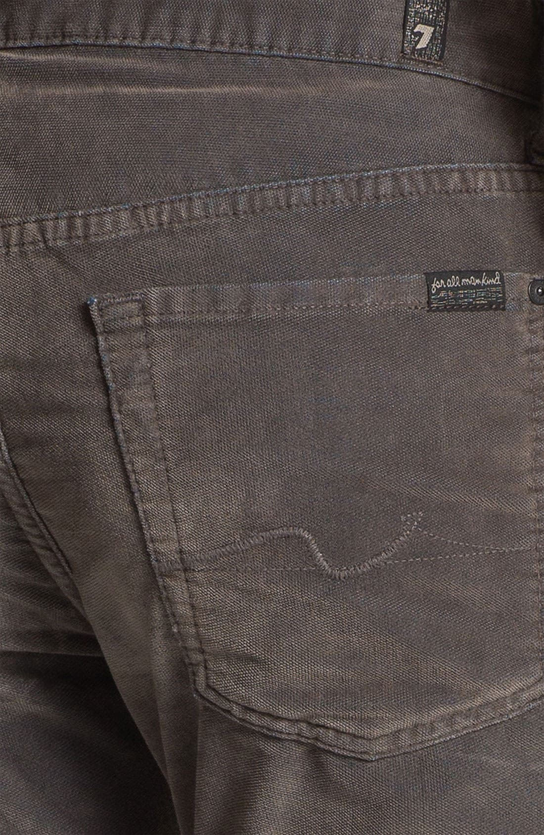 Alternate Image 3  - 7 For All Mankind® 'Standard' Straight Leg Pants