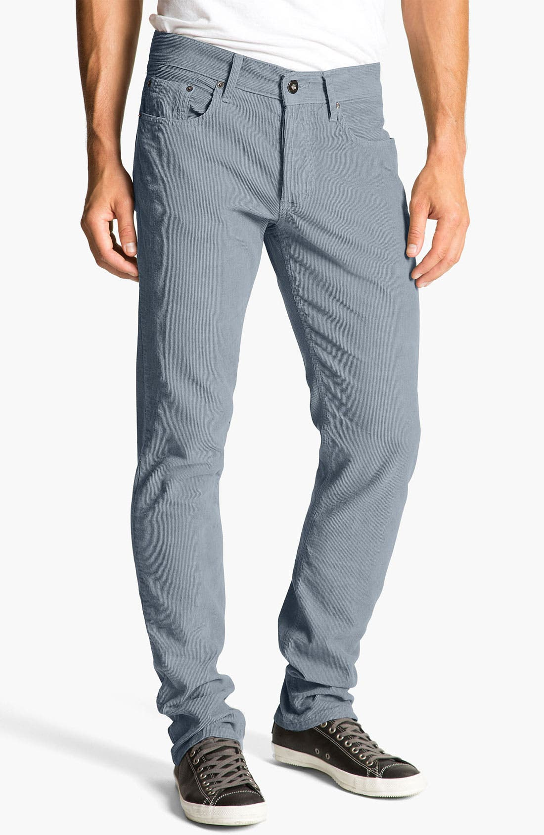 Alternate Image 2  - Splendid Mills 'Huxley' Slim Straight Leg Corduroy Pants