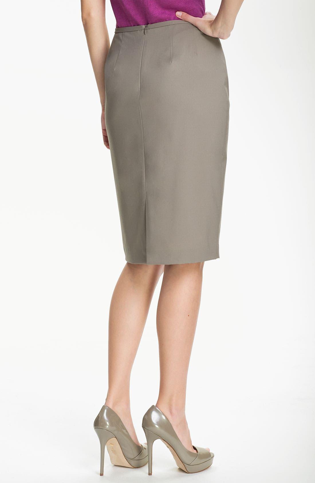 Alternate Image 2  - Lafayette 148 New York 'Maxine' Skirt