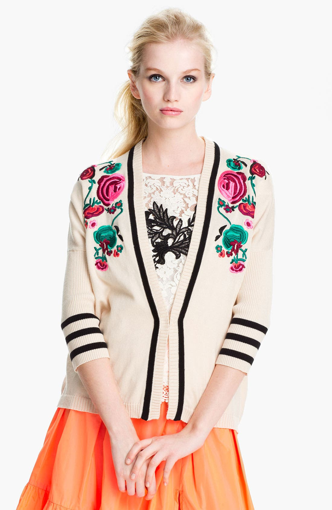 Alternate Image 1 Selected - Nanette Lepore 'Tea Ceremony' Cardigan