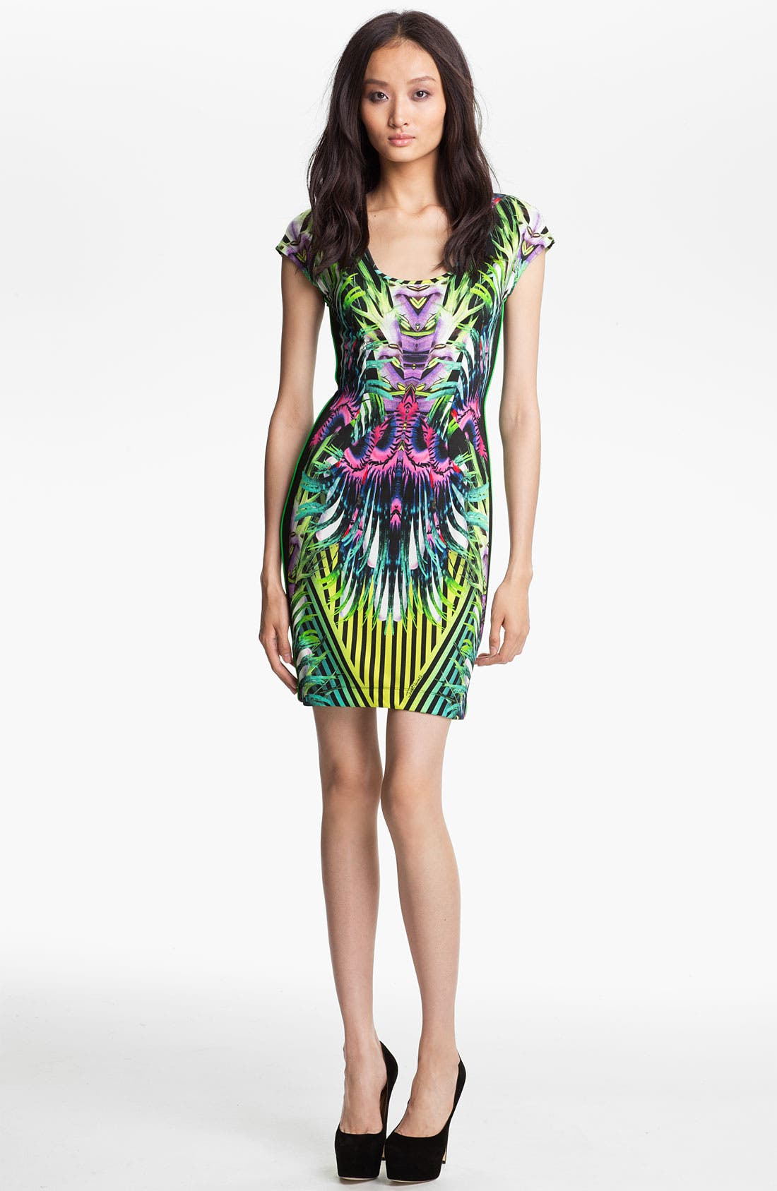 Main Image - Just Cavalli 'Jungle' Jersey Dress