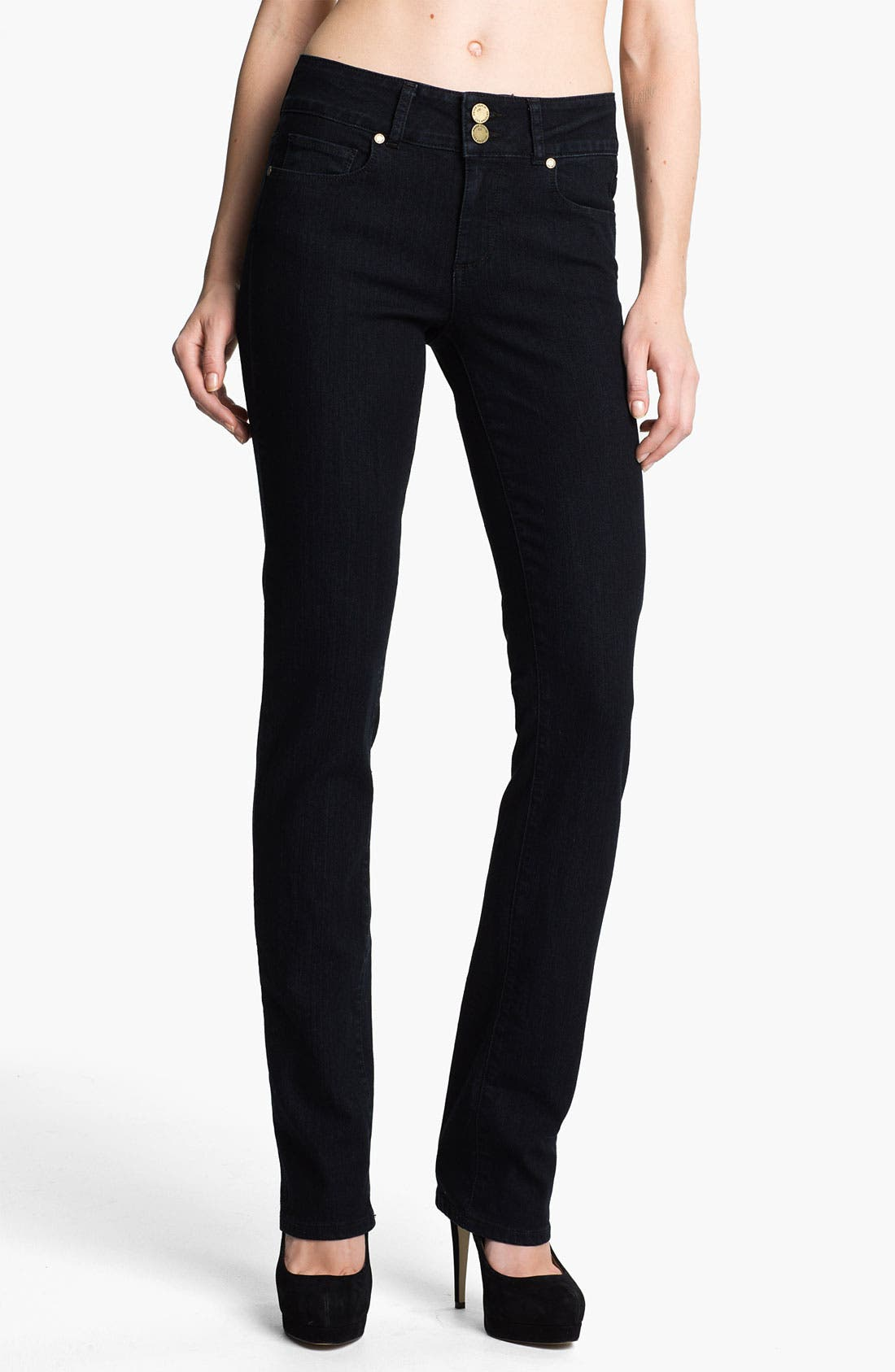 Alternate Image 1  - Paige Denim 'Hidden Hills' Straight Leg Stretch Jeans (Champion)