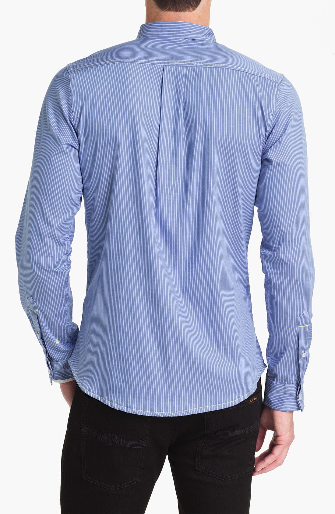 Alternate Image 2  - Descendant of Thieves Pinstripe Woven Shirt