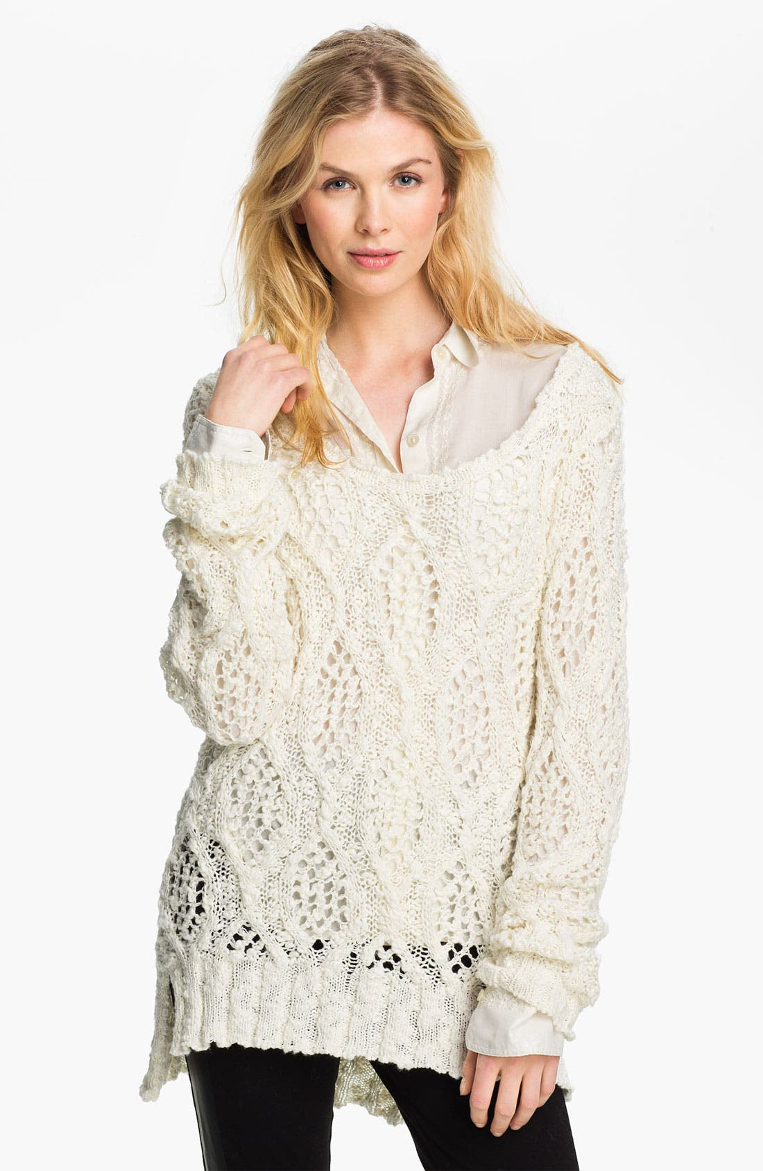 Alternate Image 1 Selected - Lucky Brand 'Melinda' Sweater