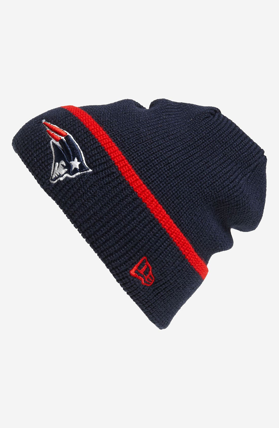 Alternate Image 1 Selected - New Era Cap 'New England Patriots' Pop-Cuff Knit Beanie