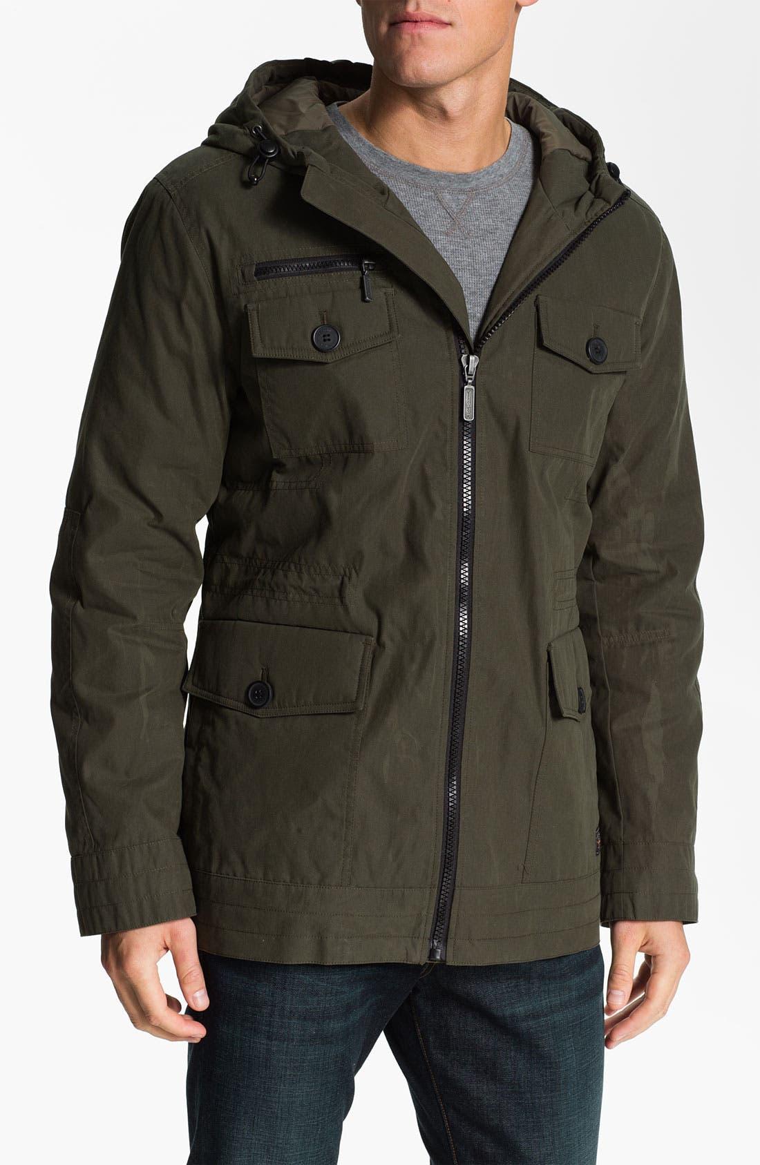 Alternate Image 1 Selected - Ben Sherman Hooded Field Jacket
