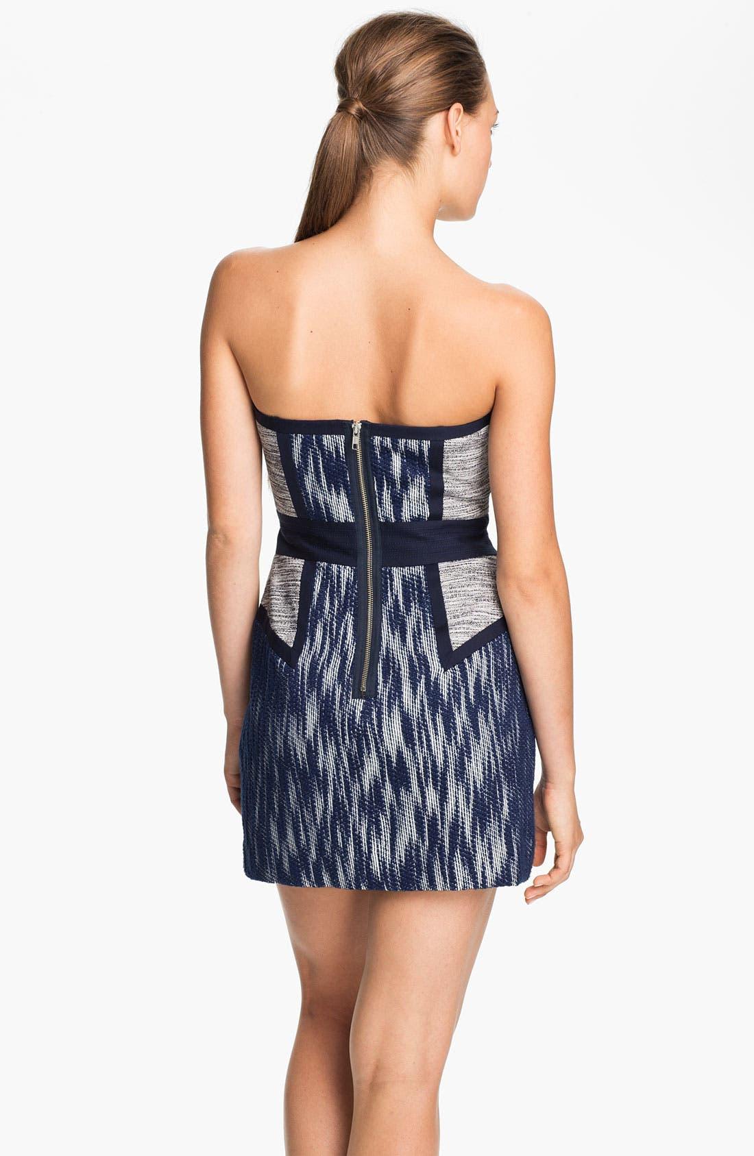 Alternate Image 2  - Milly 'Dianna' Woven Sheath Dress