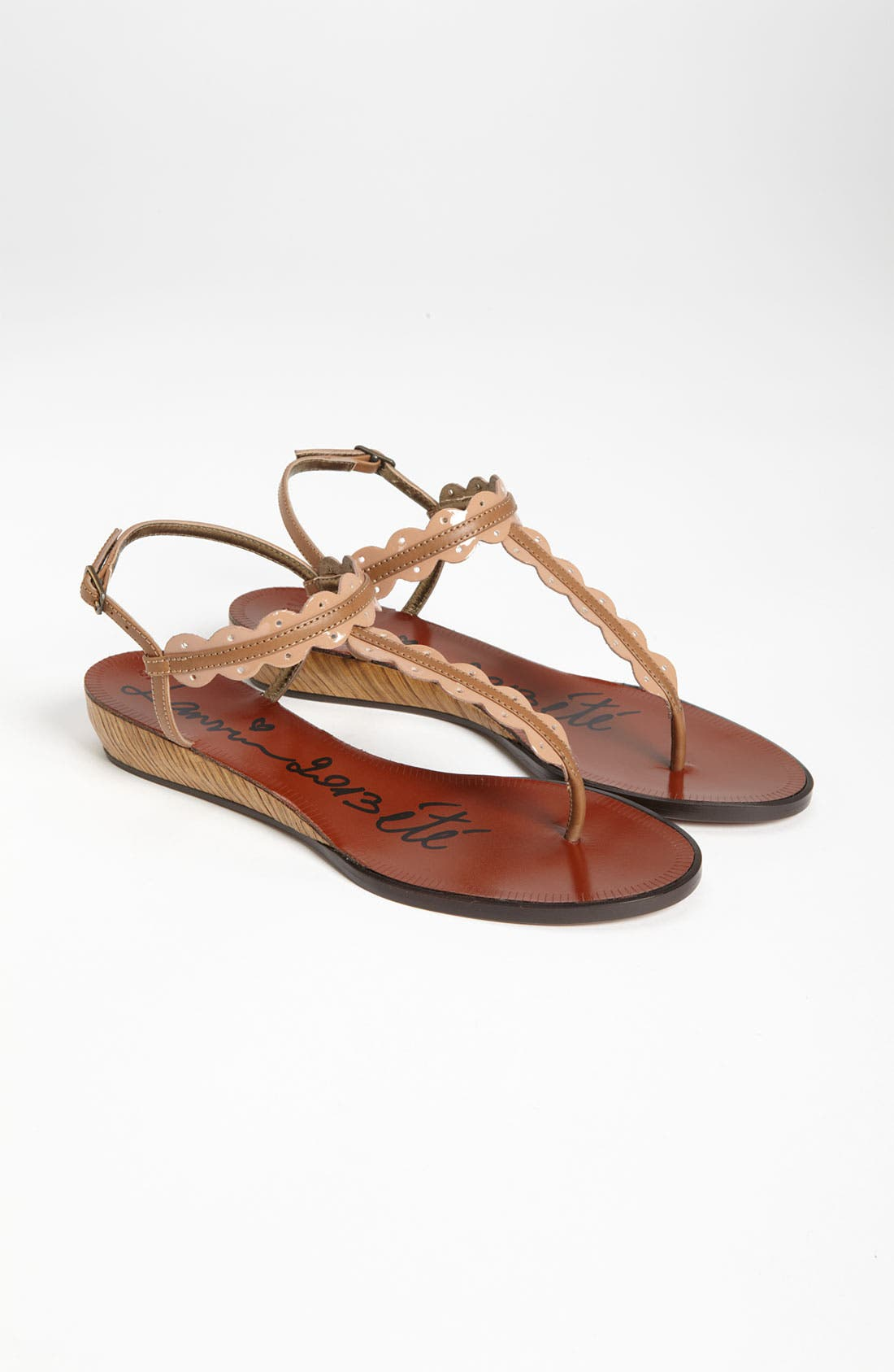 Alternate Image 4  - Lanvin Mini Wedge Thong Sandal
