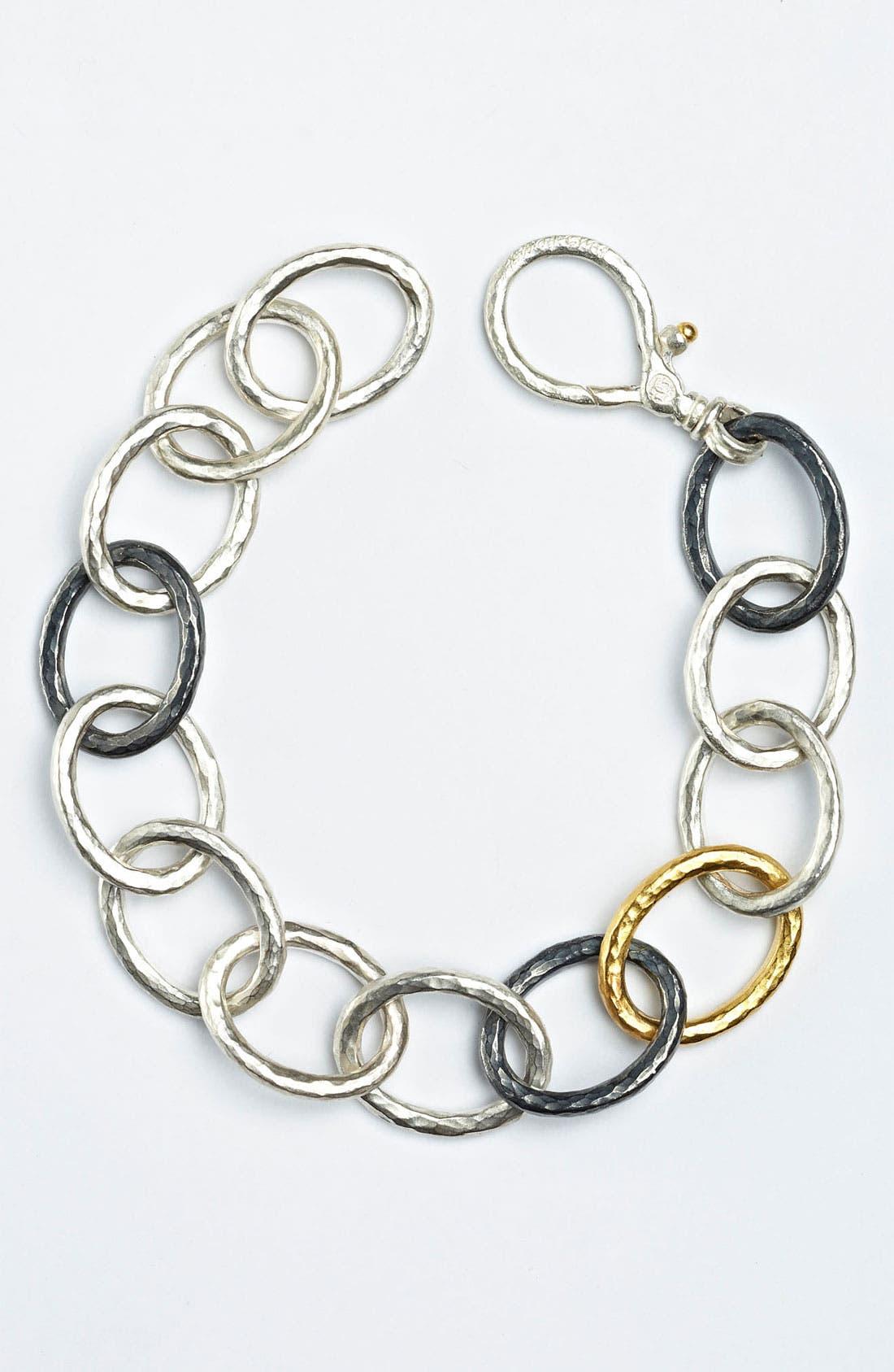 Alternate Image 1 Selected - Gurhan 'Hoopla' Oval Link Bracelet
