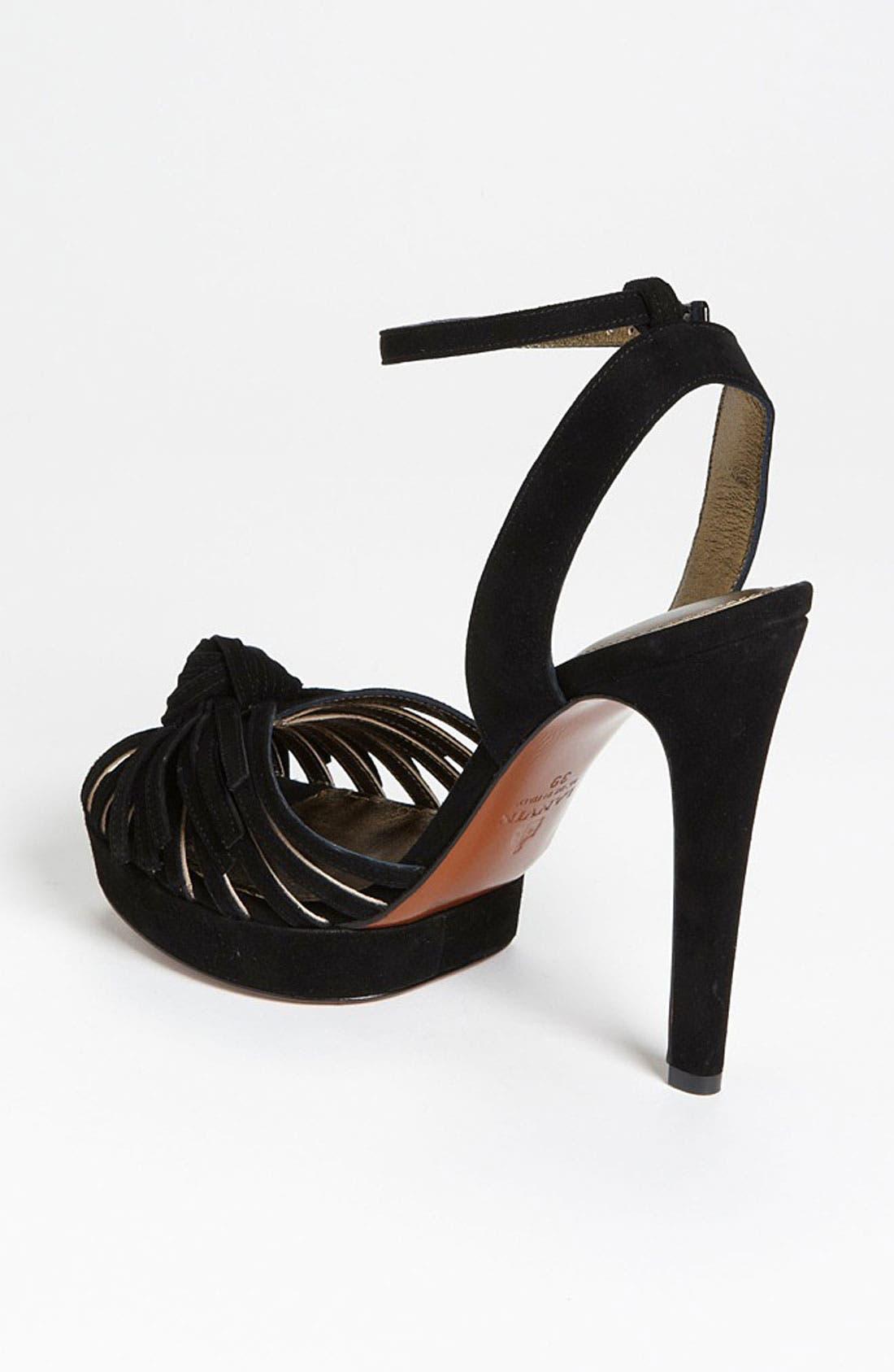 Alternate Image 2  - Lanvin Stiletto Knot Sandal