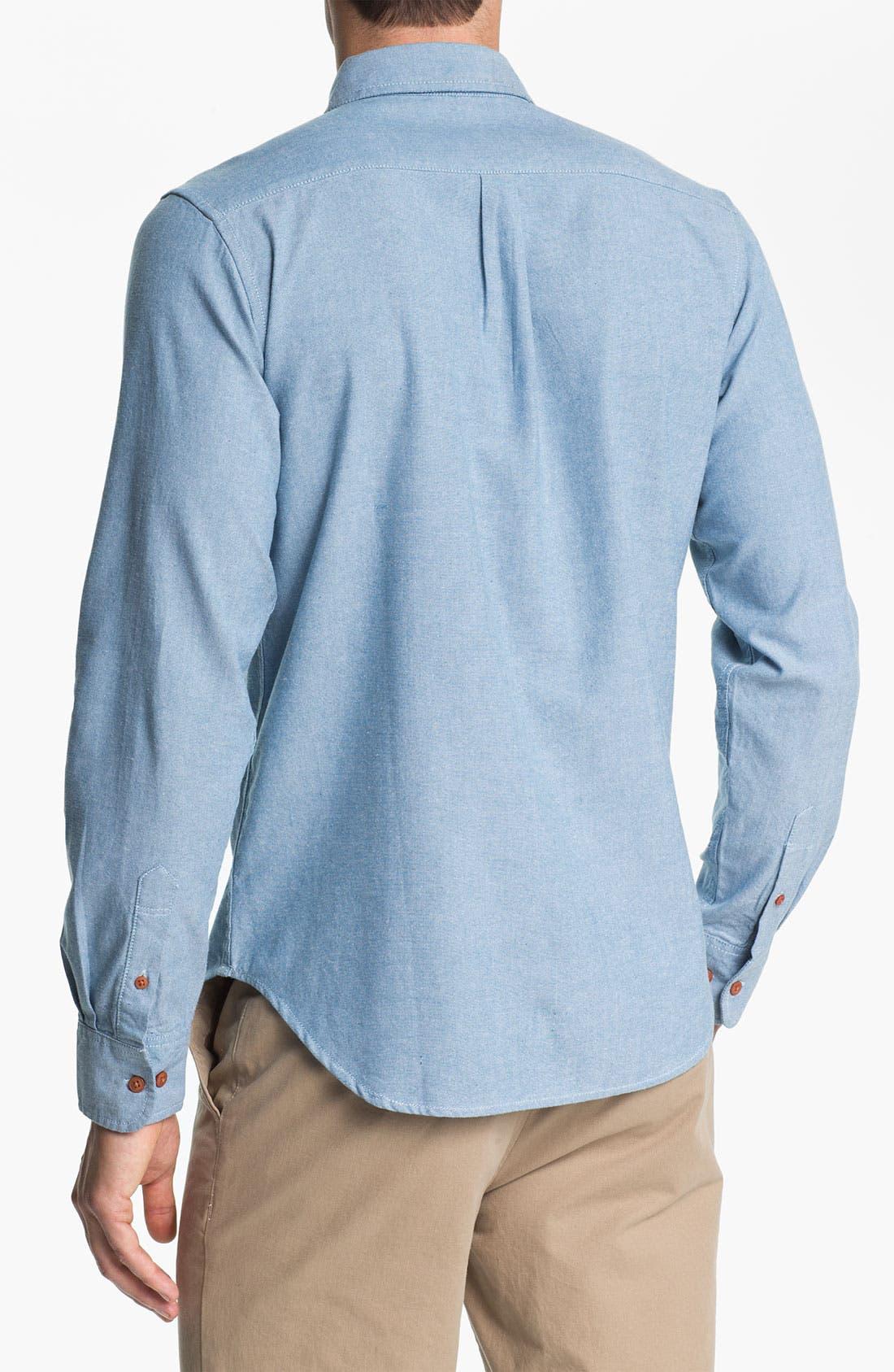 Alternate Image 2  - Obey 'Ryan' Chambray Shirt