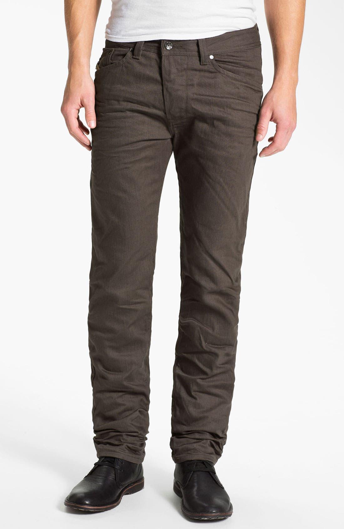 Alternate Image 2  - DIESEL® 'Darron' Slim Tapered Leg Jeans (Deep Black)