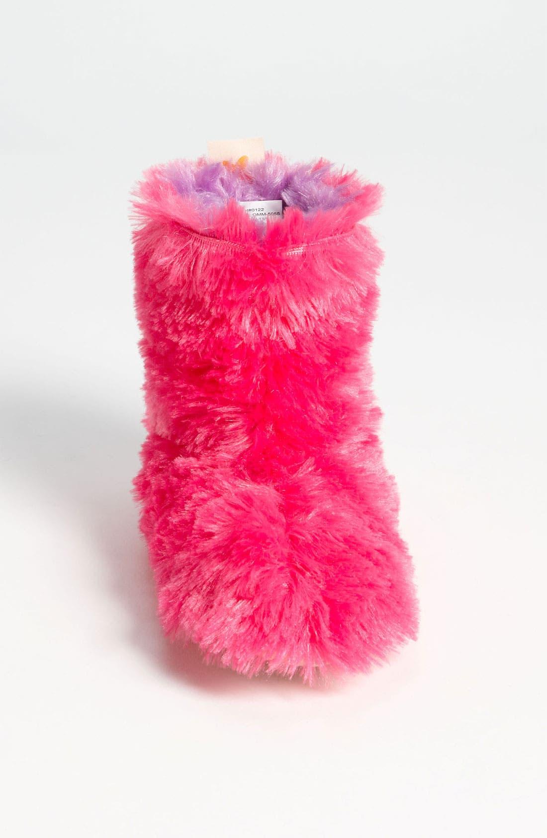 Alternate Image 3  - Olivia Miller Fuzzy Bootie (Toddler & Little Kid)