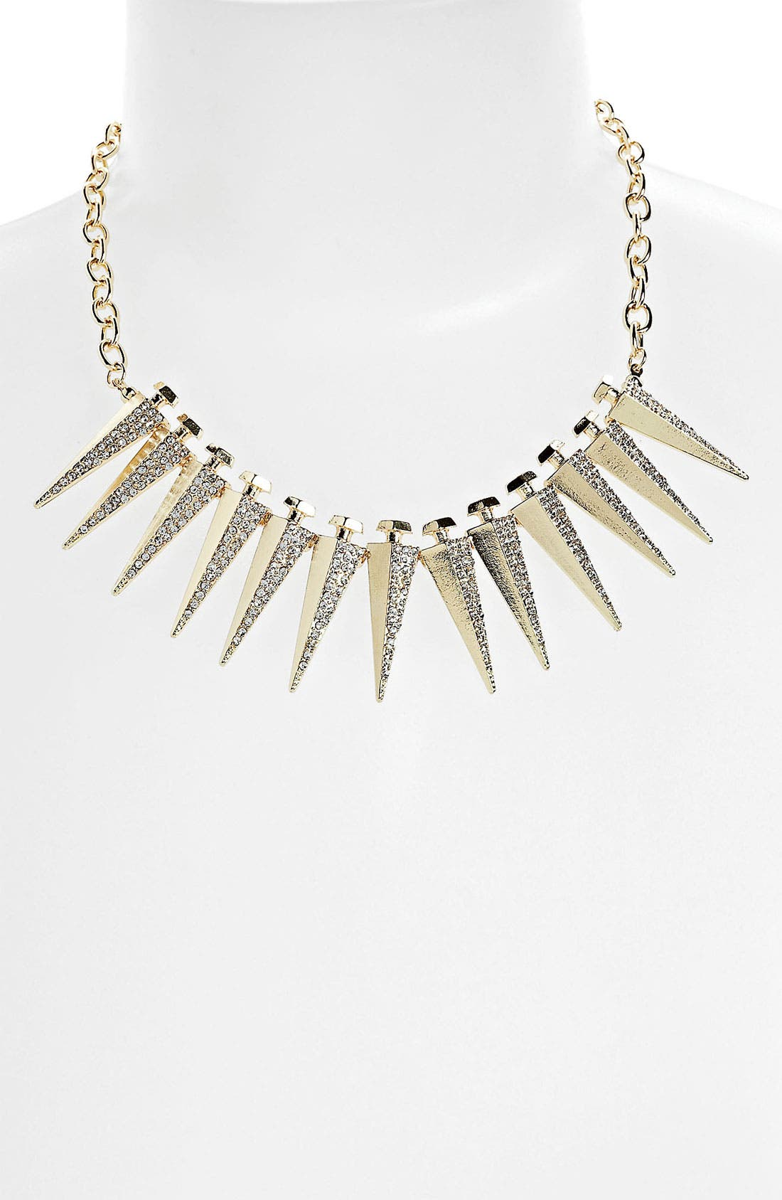 Main Image - BP. Rhinestone Spike Necklace