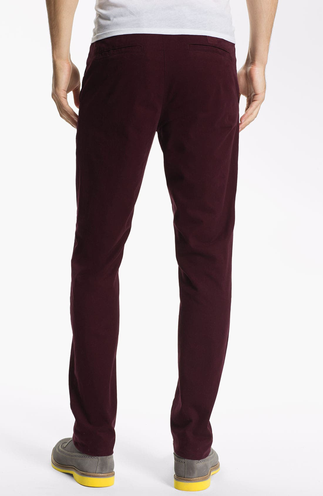 Alternate Image 2  - AG Jeans Slim Straight Leg Pants