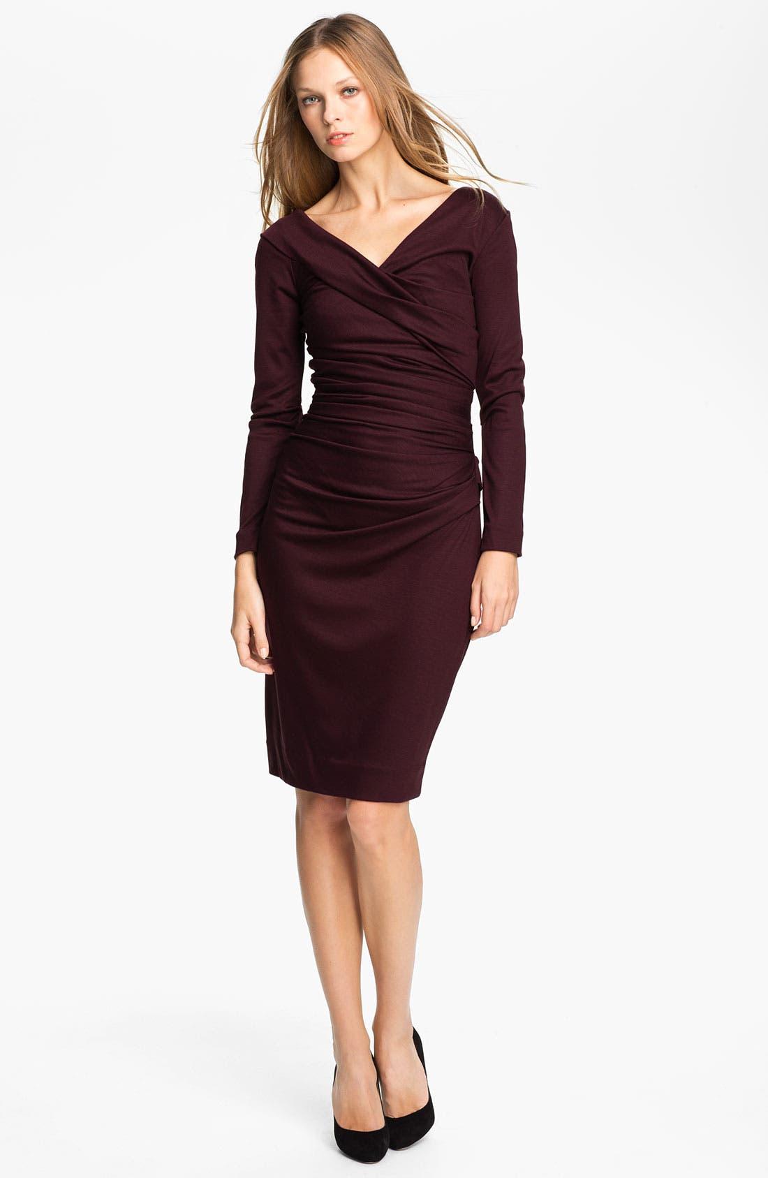 Main Image - Diane von Furstenberg 'Bentley' Wool Midi Dress