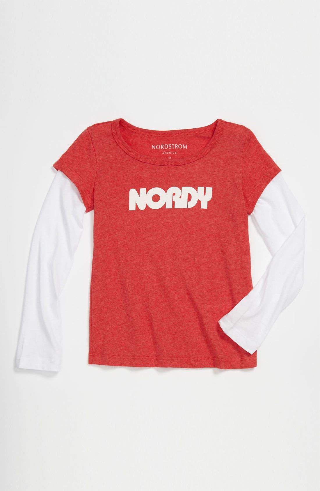 Alternate Image 1 Selected - Nordstrom 'Nordy' Tee (Toddler)