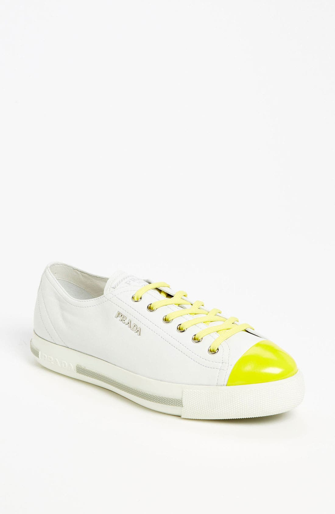 Alternate Image 1 Selected - Prada Cap Toe Sneaker