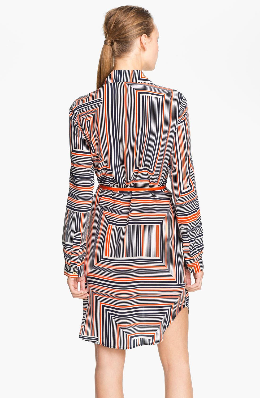 Alternate Image 2  - Trina Turk 'Amazing' Silk Shirtdress