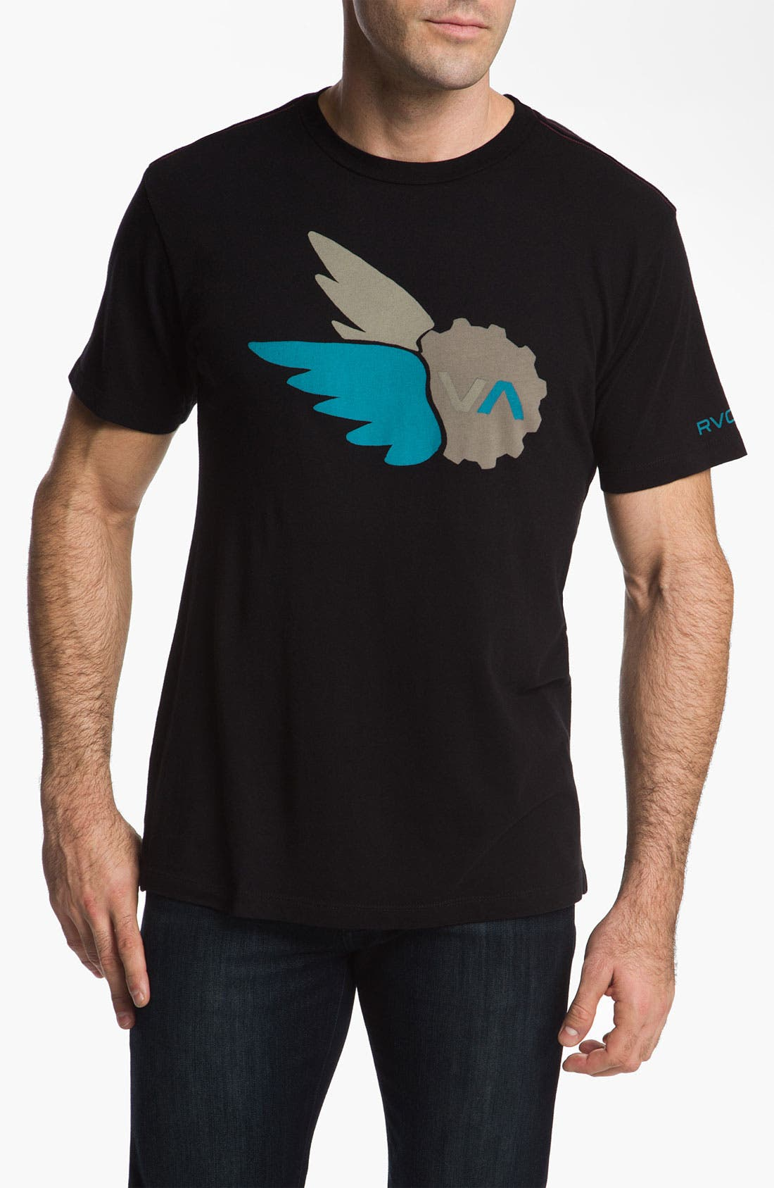 Alternate Image 1 Selected - RVCA 'Sparrows Sprocket' T-Shirt