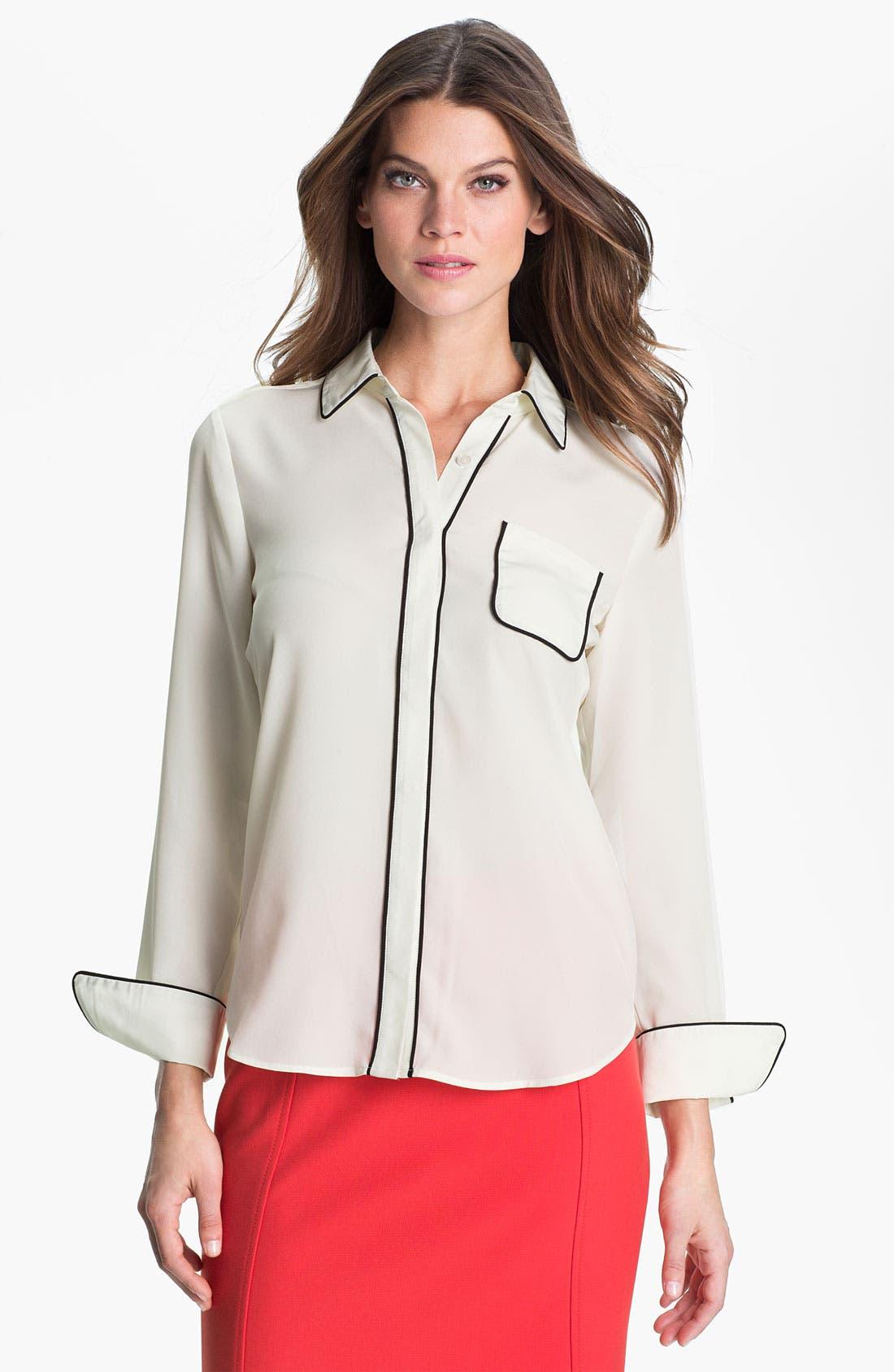 Alternate Image 1 Selected - Dora Landa Pajama Shirt