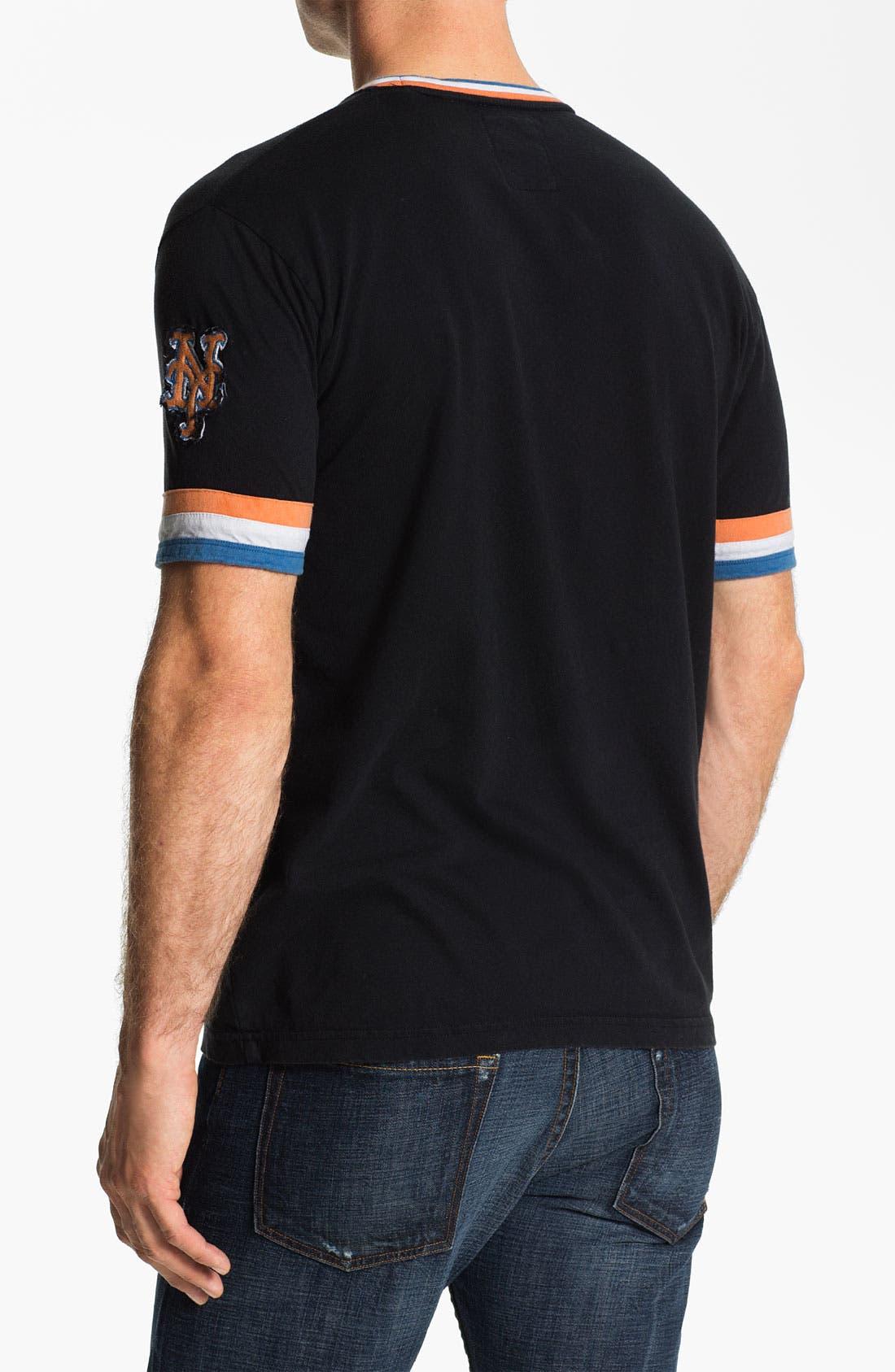 Alternate Image 2  - Red Jacket 'New York Mets' Trim Fit Ringer T-Shirt (Men)