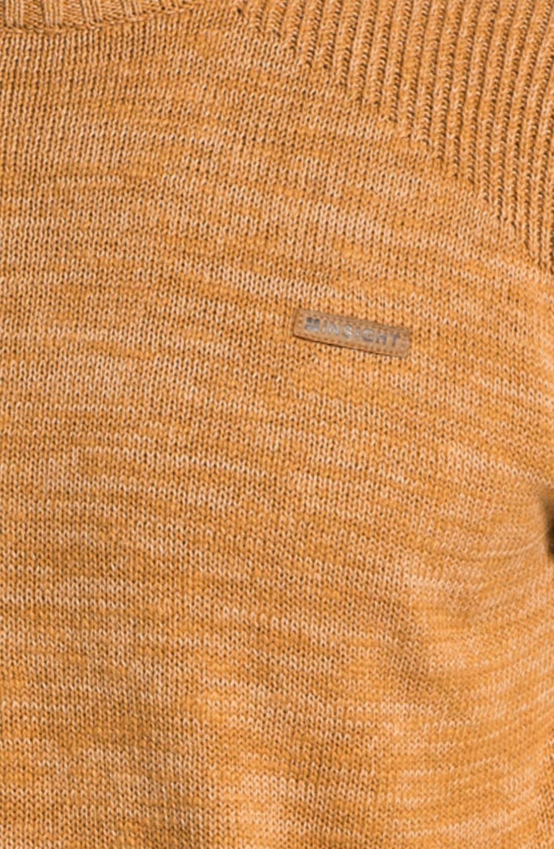 Alternate Image 3  - Insight 'The Meek' Crewneck Sweater