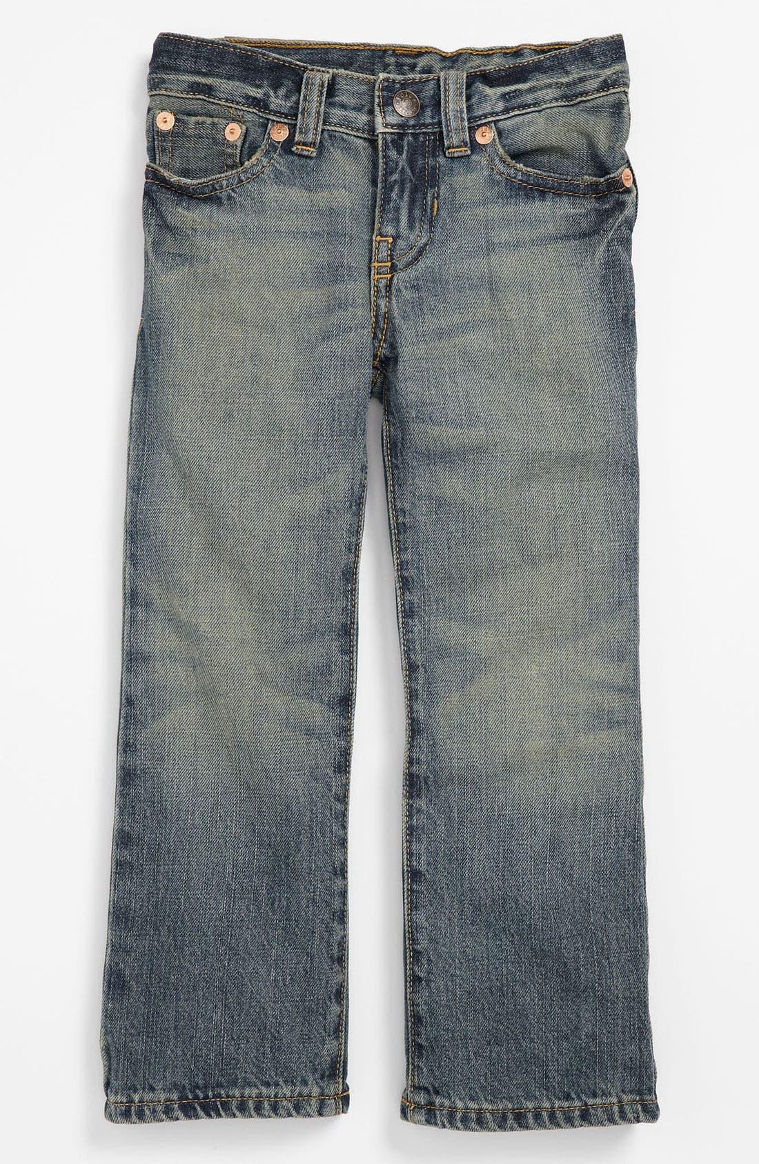 Alternate Image 2  - Ralph Lauren Skinny Leg Jeans (Toddler)