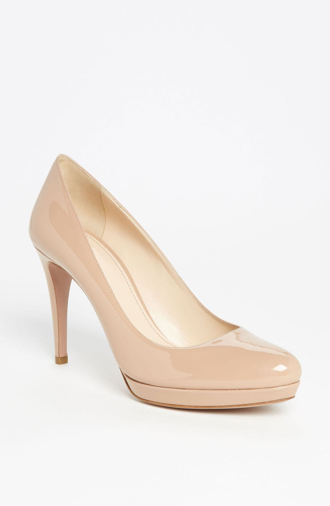 Alternate Image 1 Selected - Prada Round Toe Platform Pump