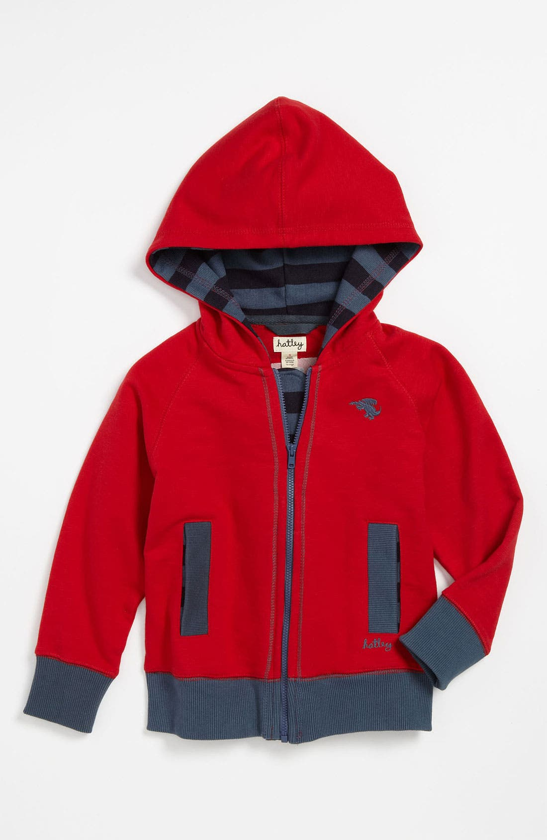 Alternate Image 1 Selected - Hatley 'Dragons' Hoodie (Toddler)