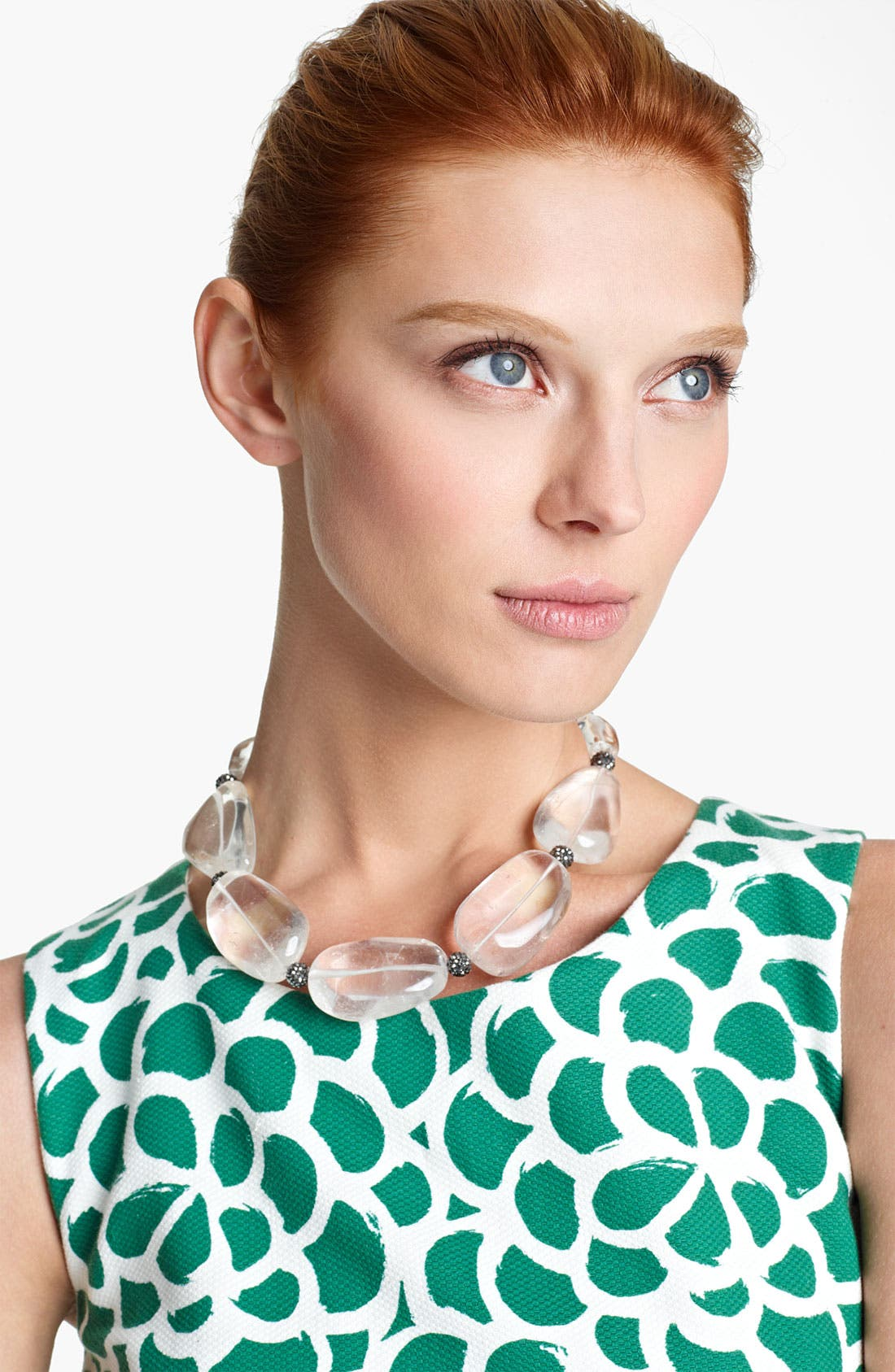 Alternate Image 1 Selected - Oscar de la Renta Rock Crystal Necklace