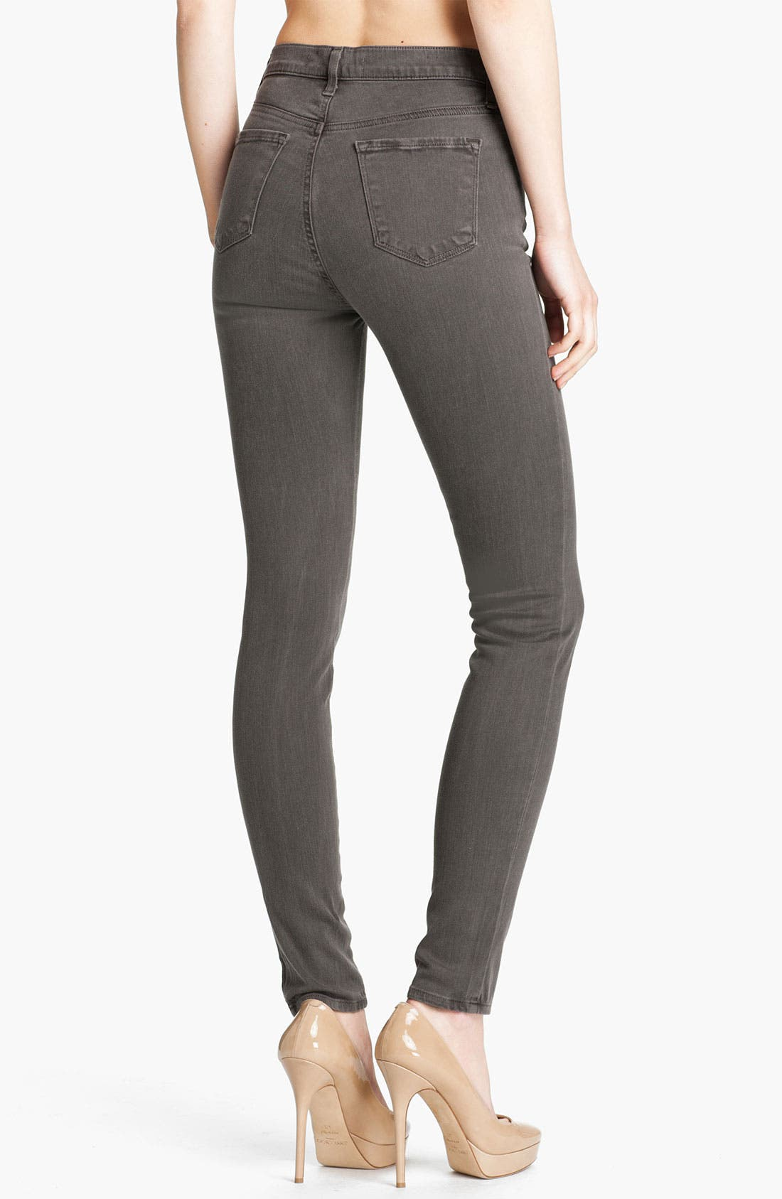 Alternate Image 2  - J Brand 'Maria' High Rise Skinny Stretch Jeans (Vintage Fatigue)