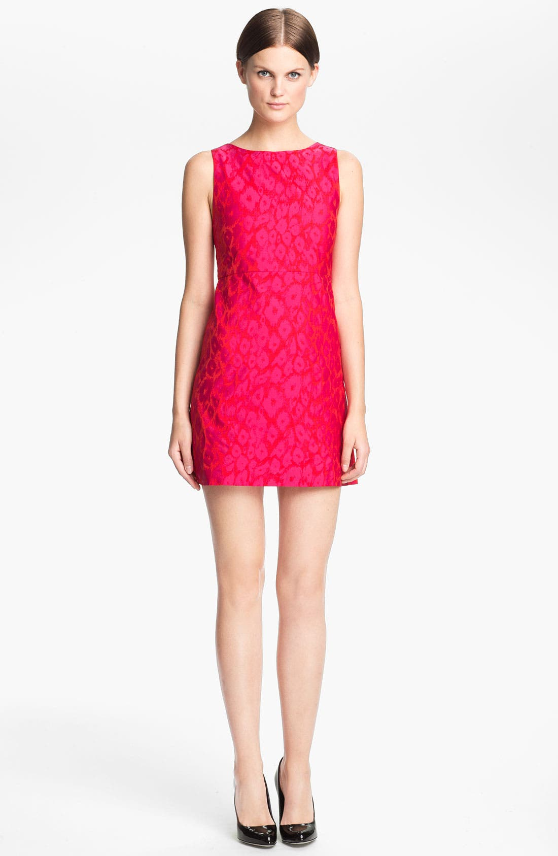 Main Image - Alice + Olivia 'Marlene' A-Line Dress