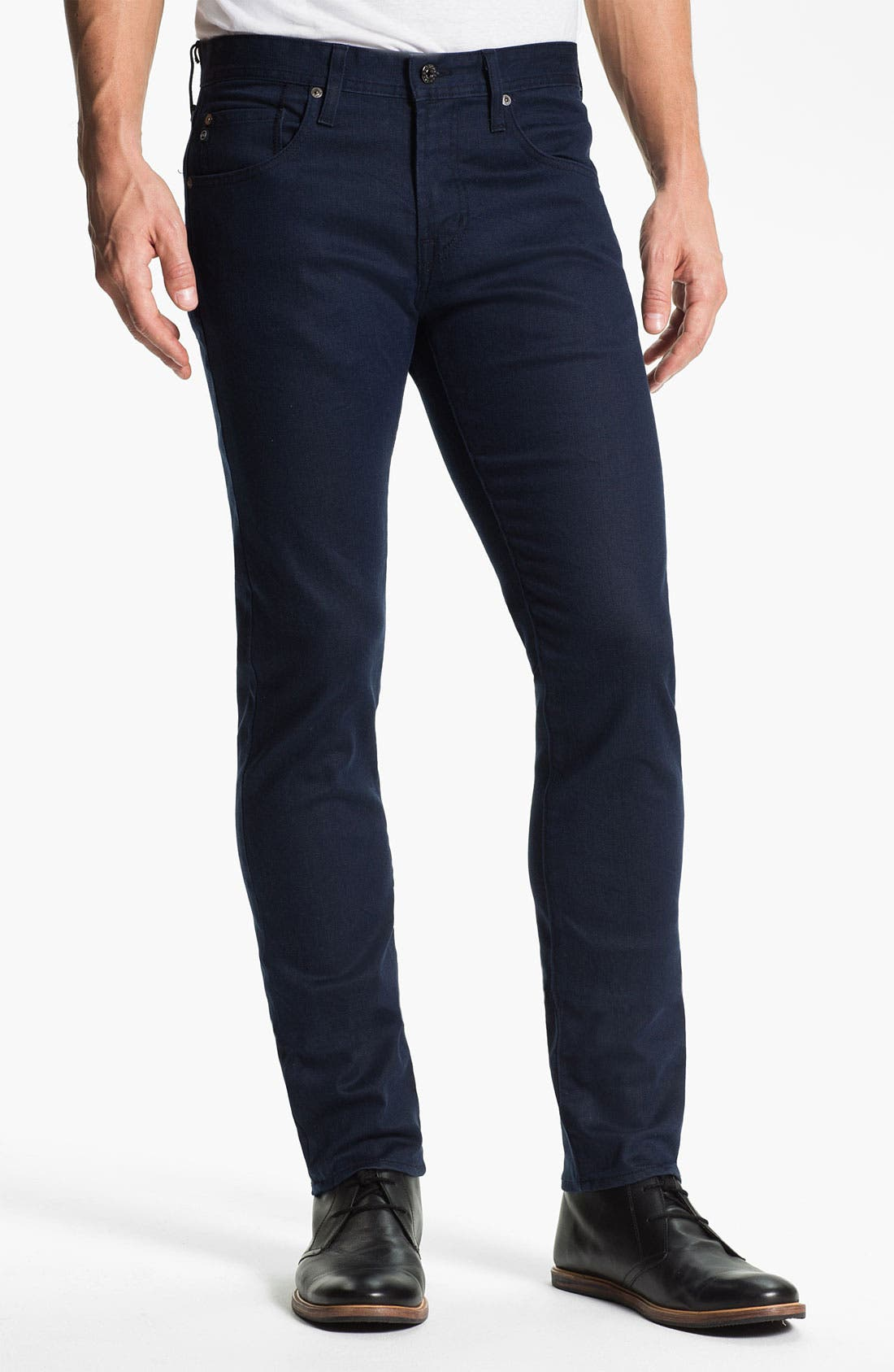 Alternate Image 1 Selected - AG 'Dylan' Skinny Fit Jeans (Perry) (Online Only)