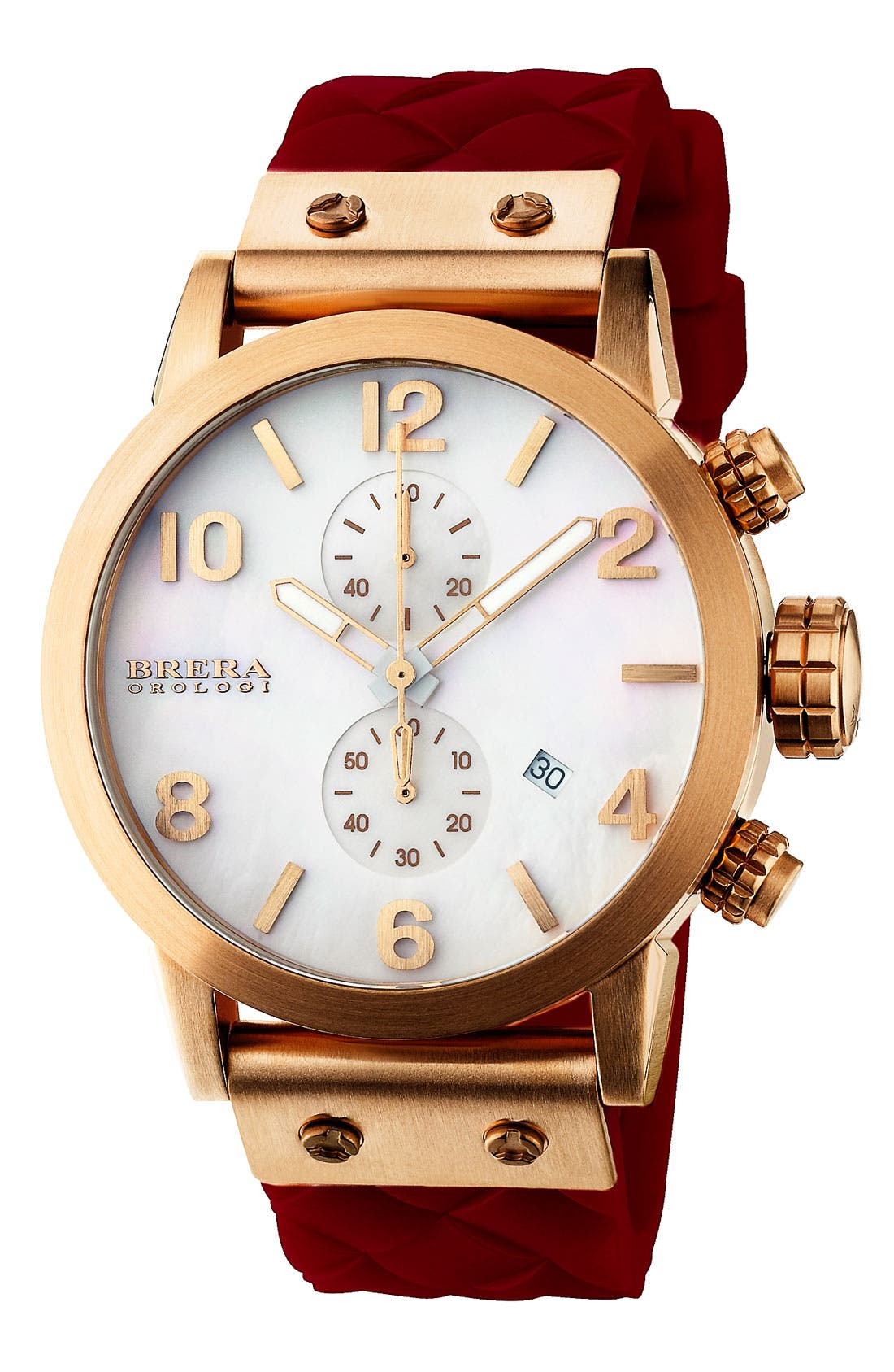 Alternate Image 1 Selected - ISBLA RGN WHT DIAL BURG WVN SI