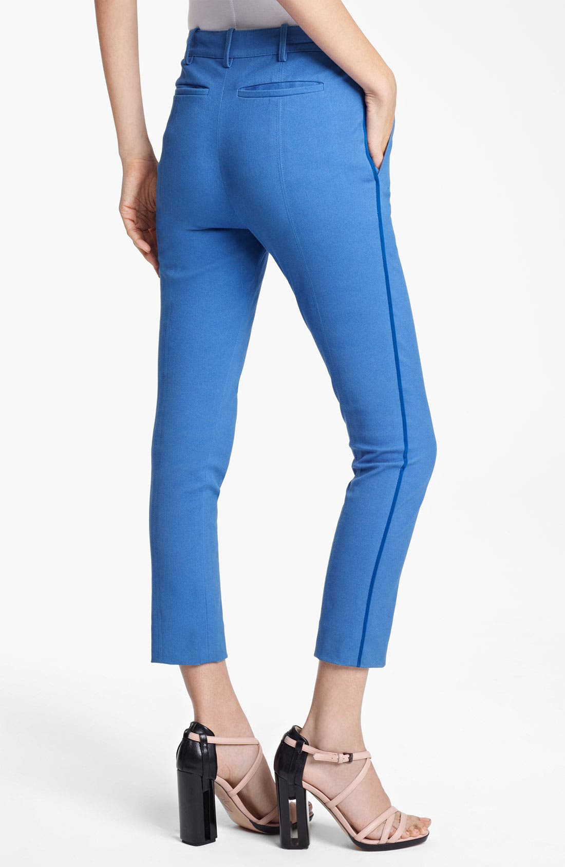Alternate Image 4  - Reed Krakoff Compact Canvas Crop Pants
