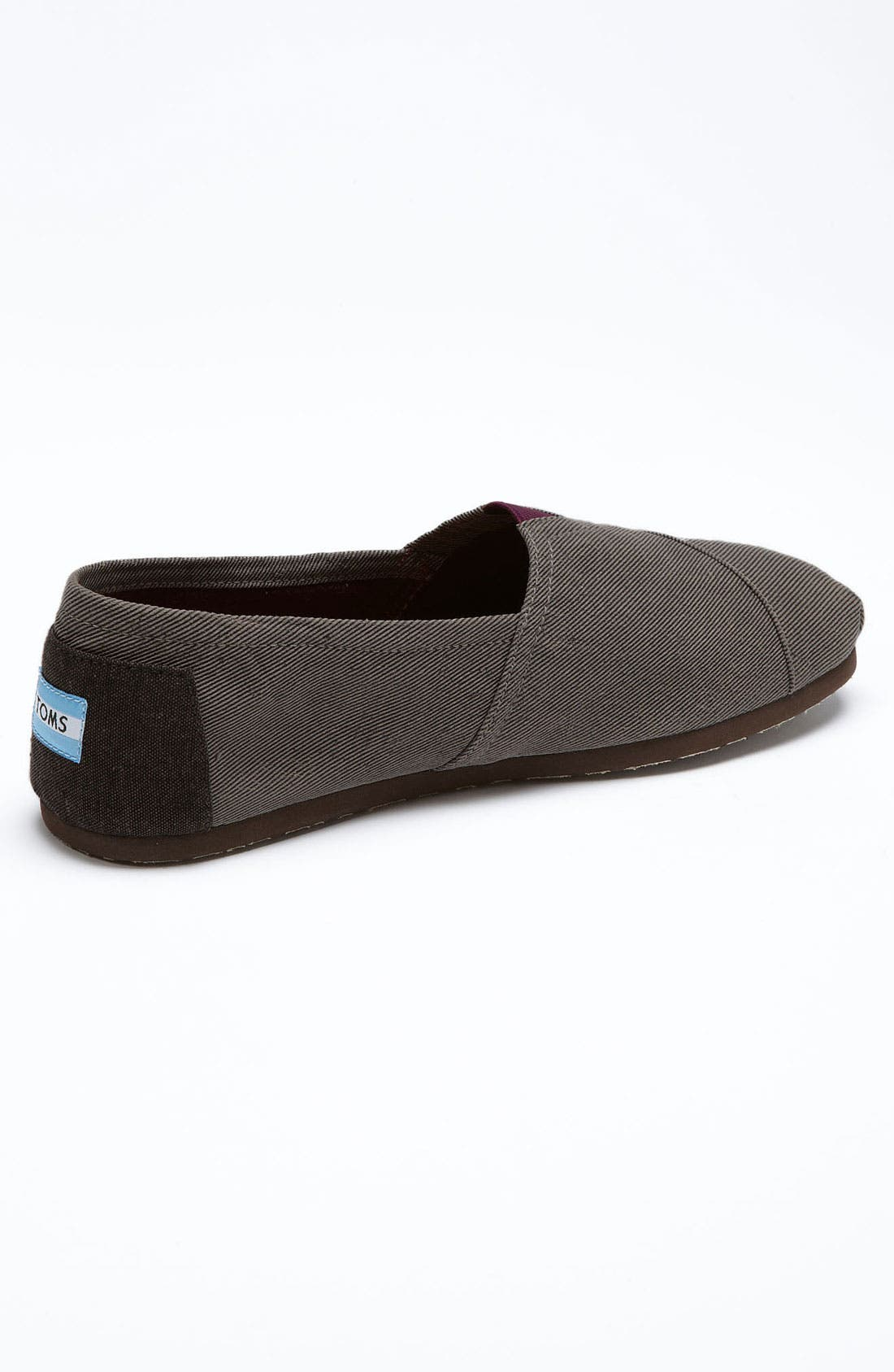 Alternate Image 2  - TOMS 'Classic' Twill Slip-On (Men) (Limited Edition - Movember)