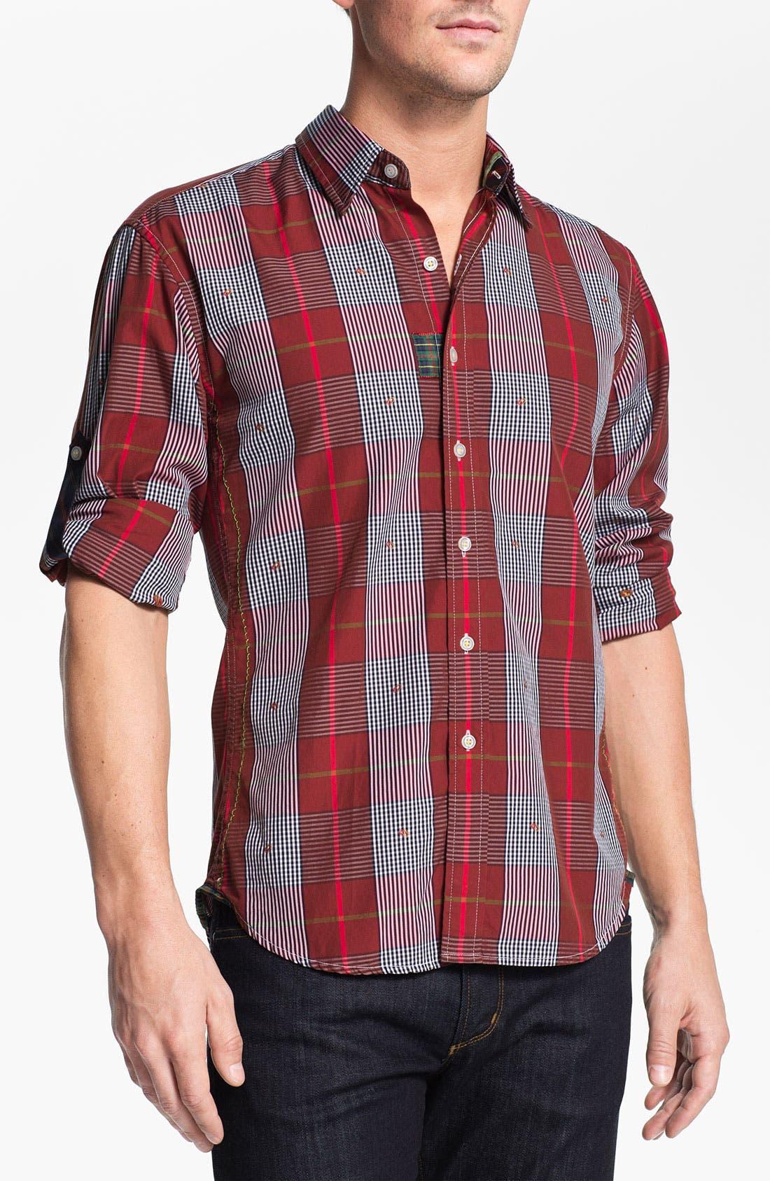 Alternate Image 1 Selected - Robert Graham 'Leoni' Sport Shirt