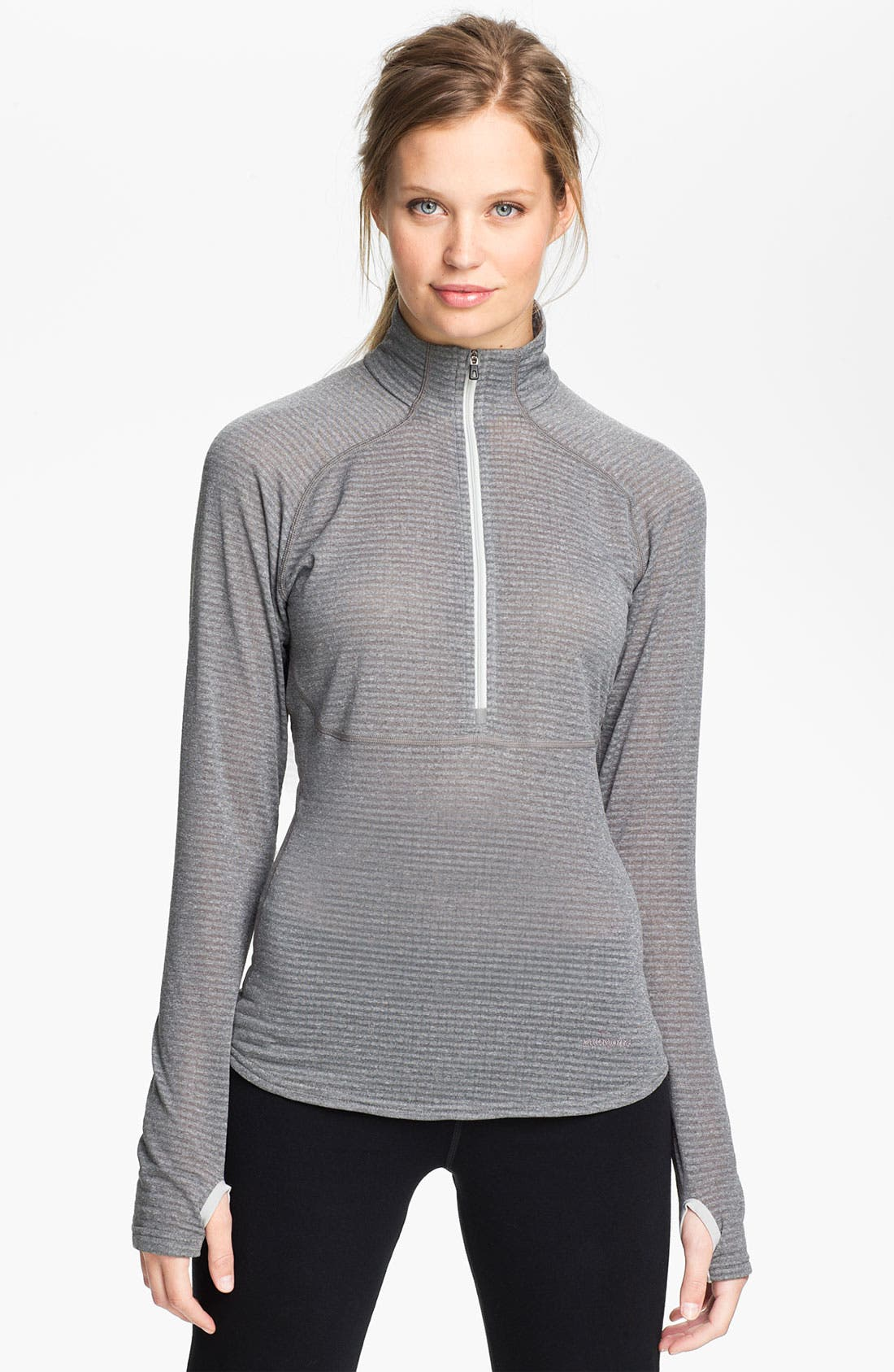Alternate Image 1 Selected - Patagonia 'Capilene 4' Expedition Weight Base Layer Zip Neck Top