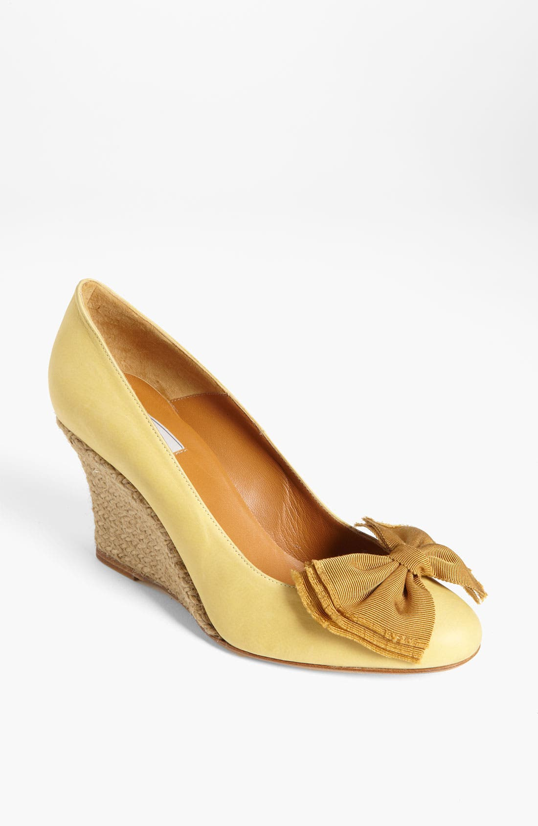Alternate Image 1 Selected - Lanvin Espadrille Wedge Pump